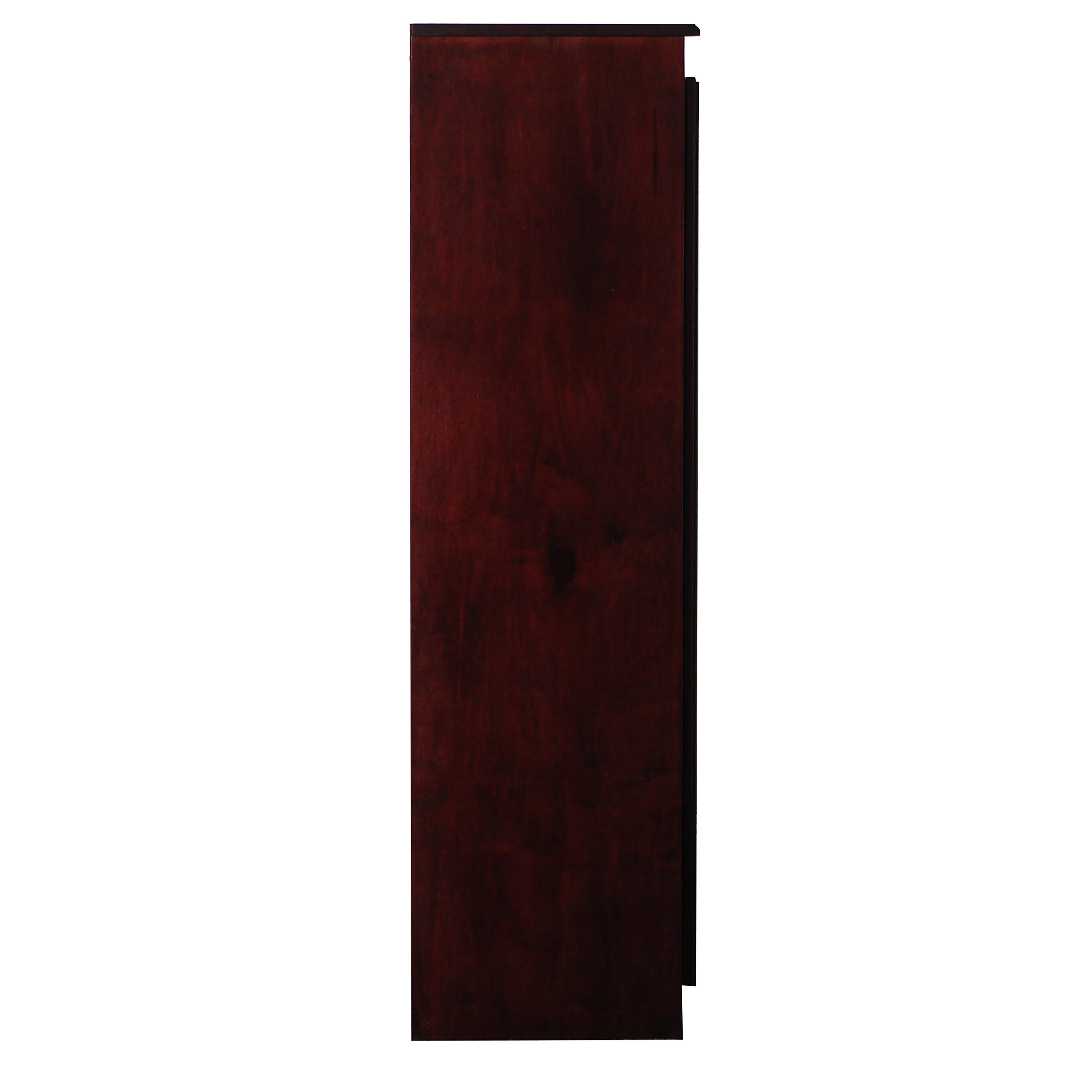 Storage Cabinet Wood Darby Home Co Fellers 2 Door Storage Cabinet Reviews Wayfair
