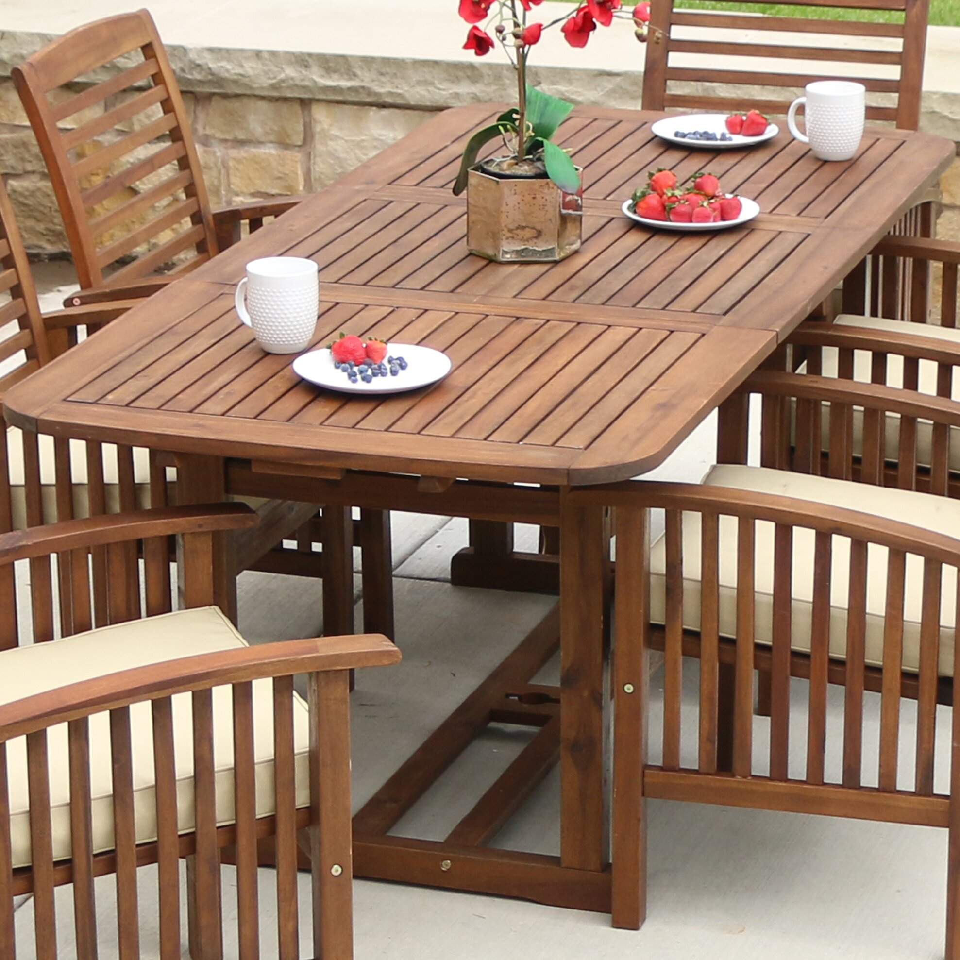 Dining Table Co Darby Home Co Widmer Extendable Dining Table Reviews Wayfair