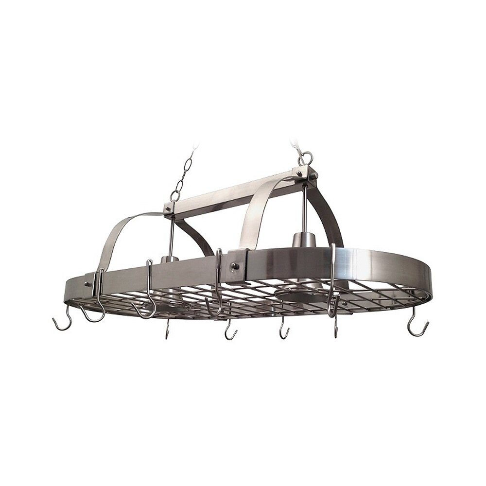 Kitchen Pot Rack Darby Home Co 2 Light Kitchen Pot Rack Reviews Wayfair