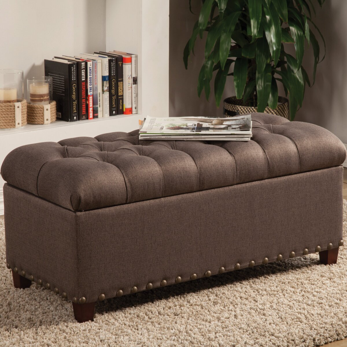 Bedroom Bench Storage Alcott Hill Henderson Upholstered Storage Bedroom Bench Reviews