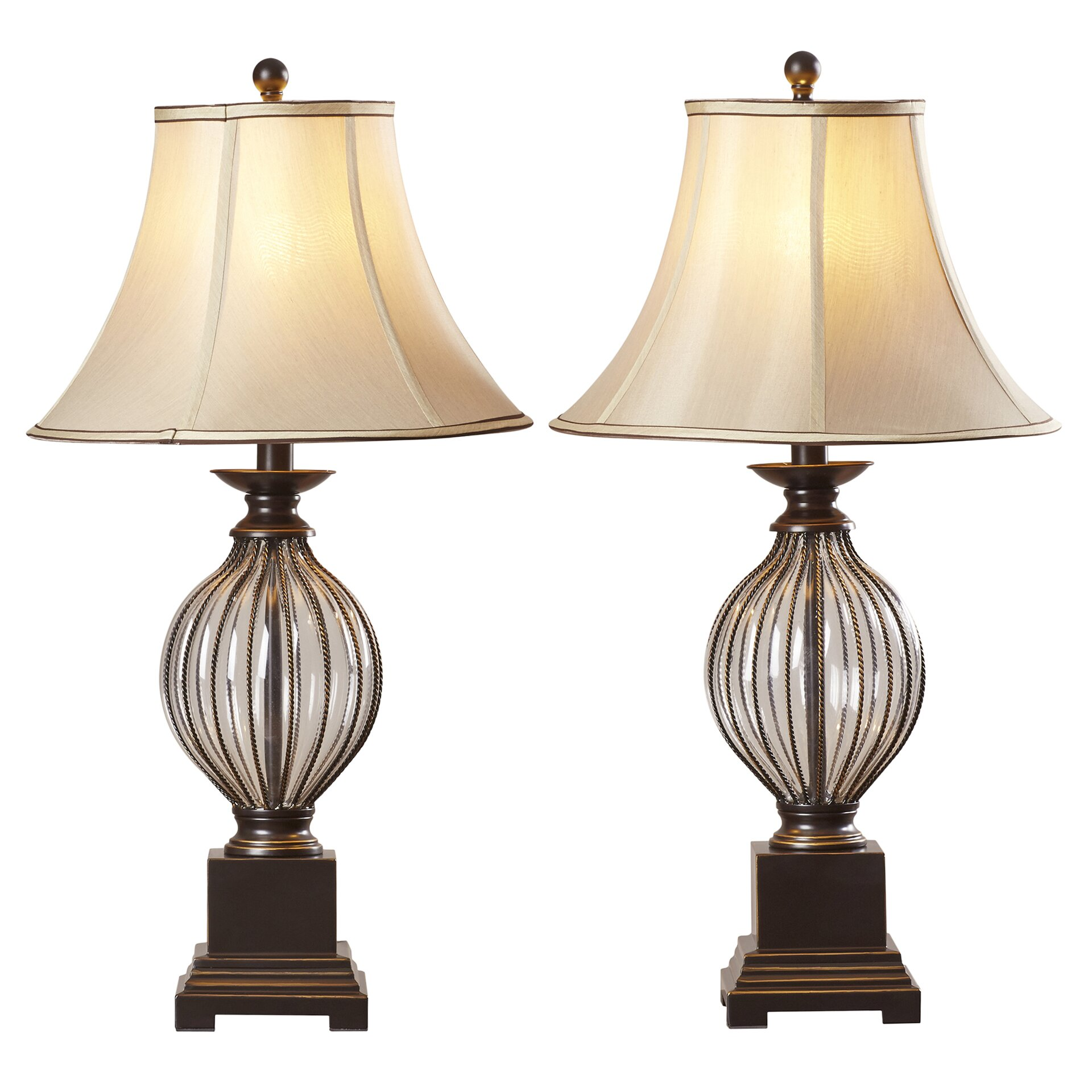 """Bedroom Lamps Gold Coast: Alcott Hill Ontario 31"""" Table Lamp & Reviews"""