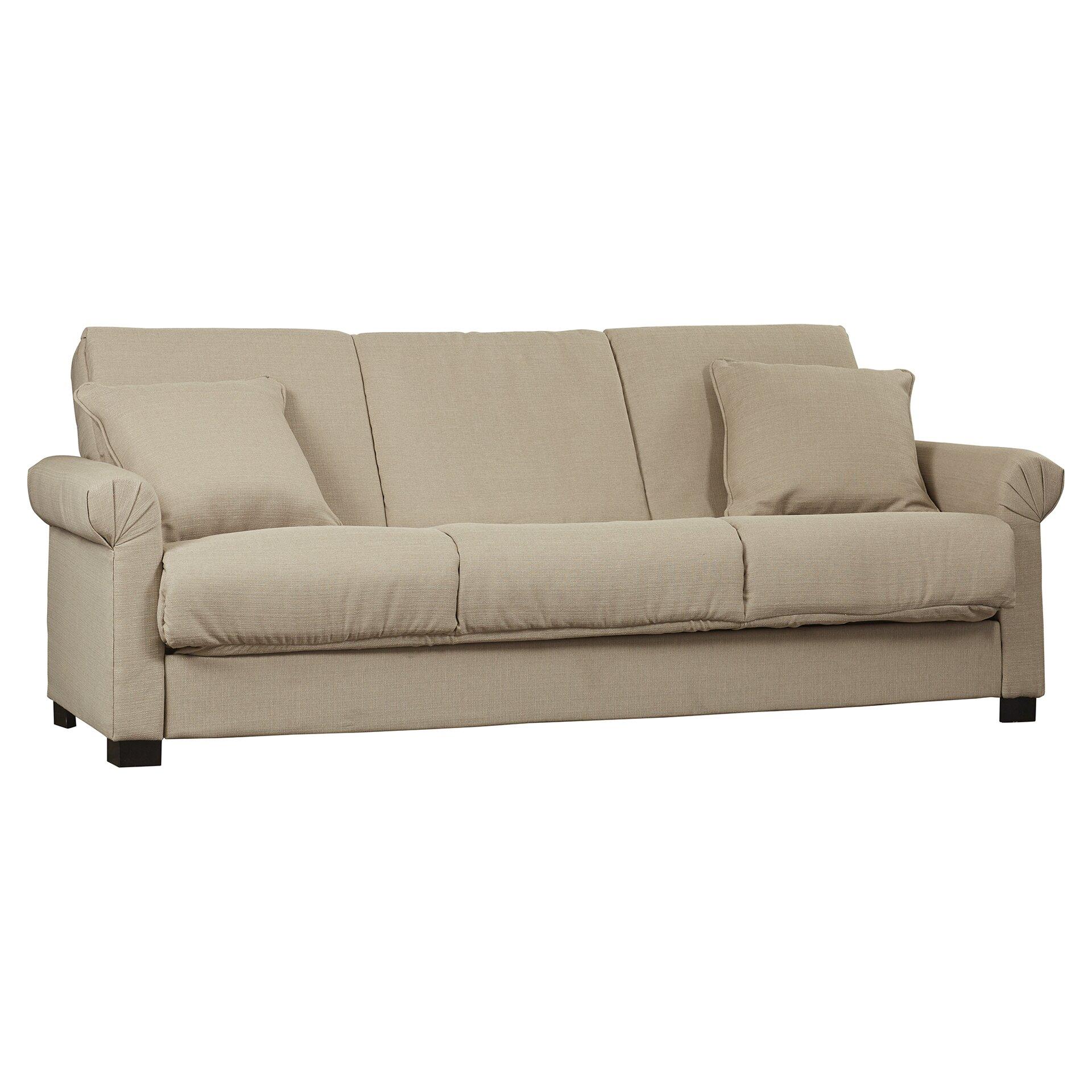 Alcott Hill Lawrence Full Convertible Upholstered Sleeper