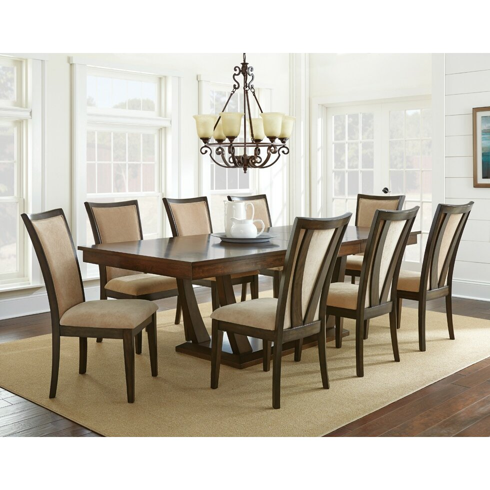 North Shore Living Room Set 9 Piece Dining Sets Youll Love Wayfair