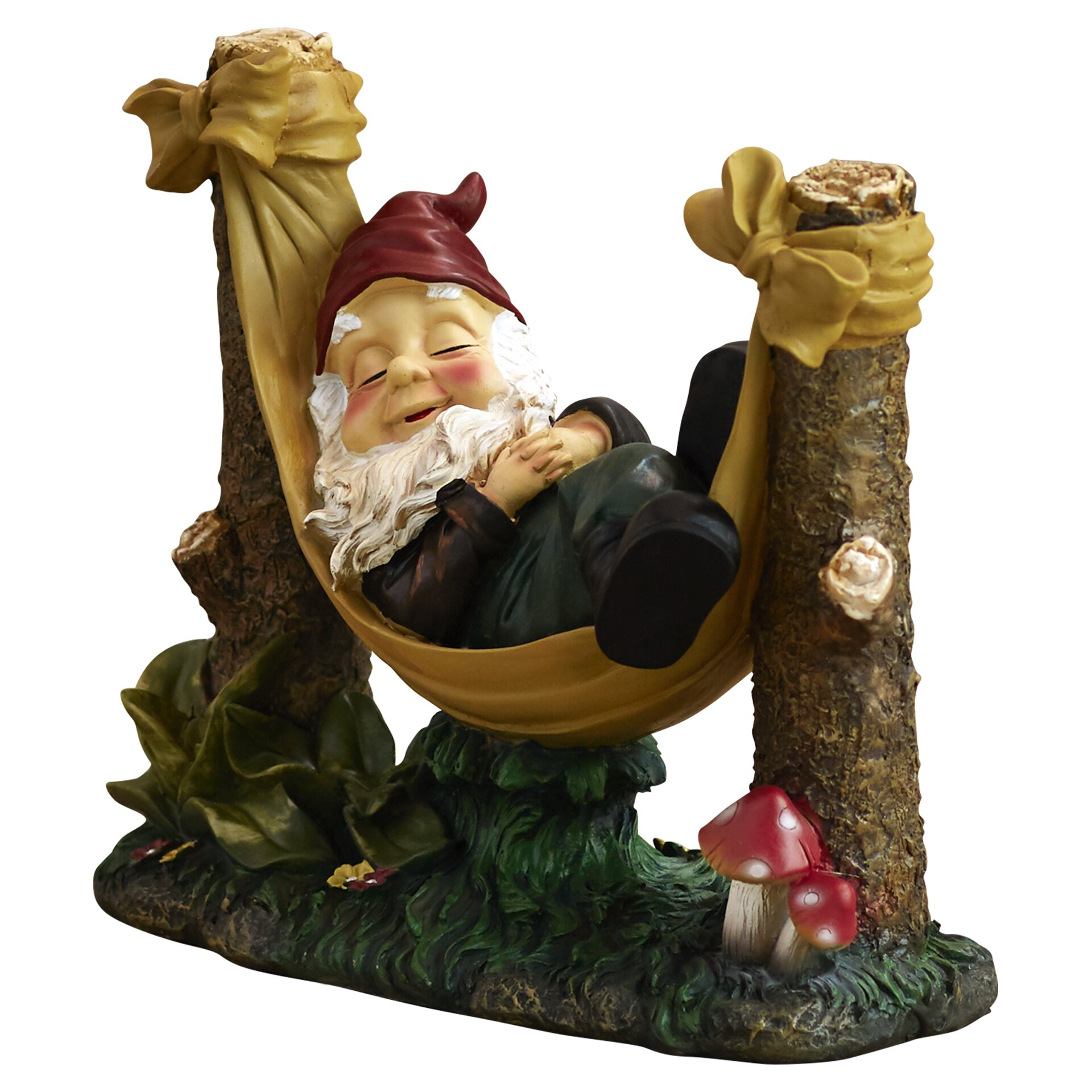 Alcott Hill Rocky Garden Gnome Statue Reviews Wayfair