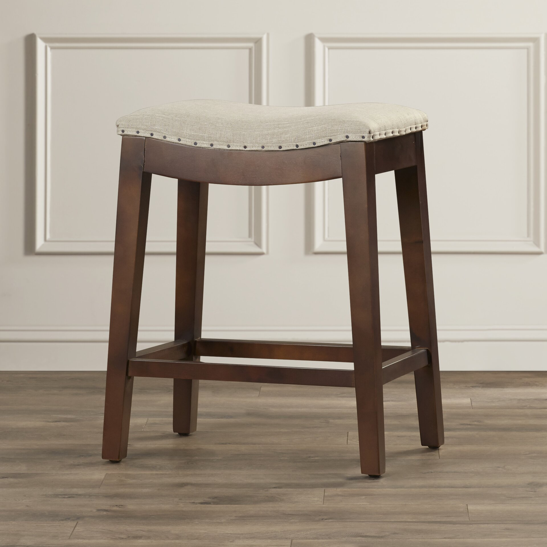 stress colored stool : Alcott Hill Reg Stoutsville 24 Quot Bar Stool With Cushion