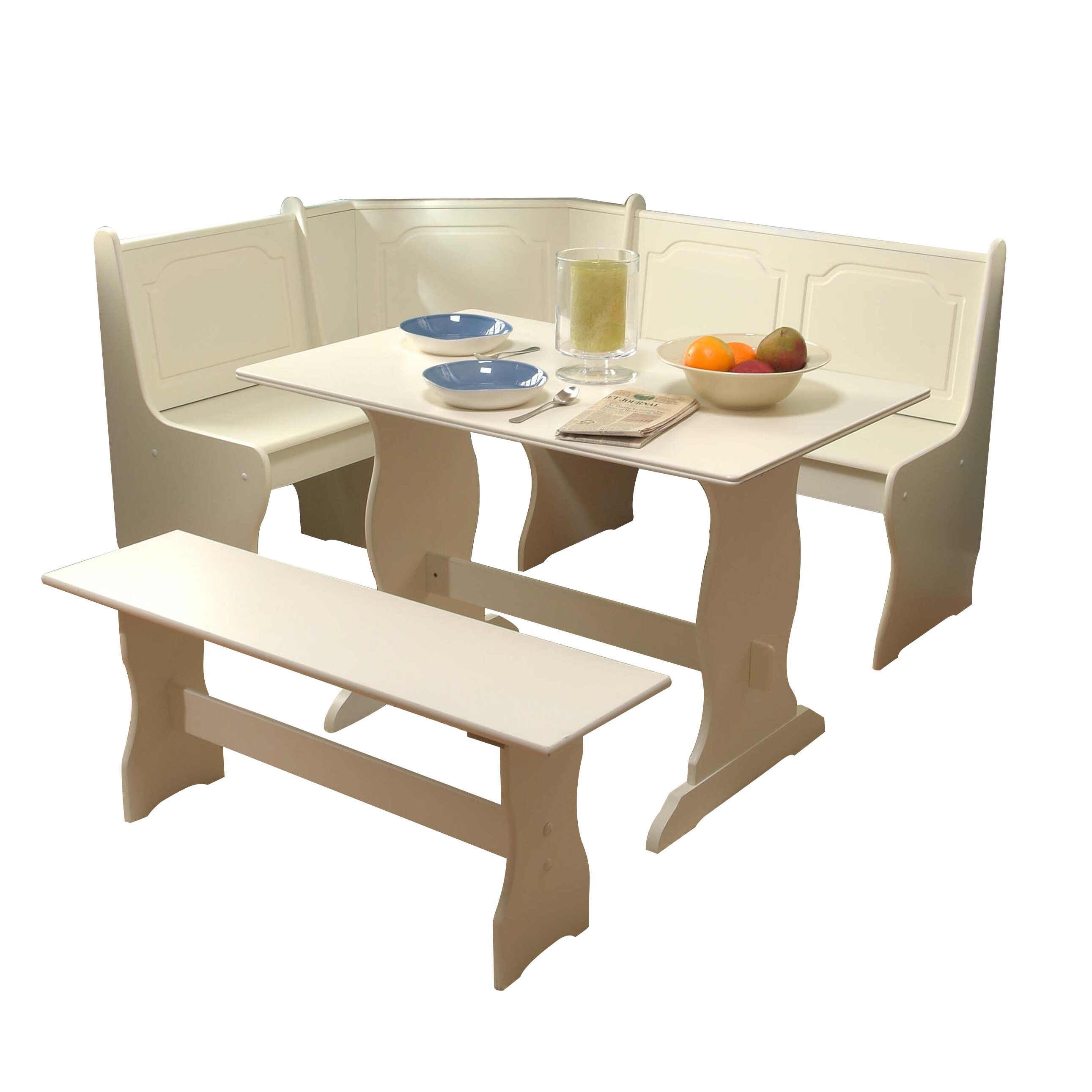 alcott hillampreg bronzewood  piece dining set: three piece dining set