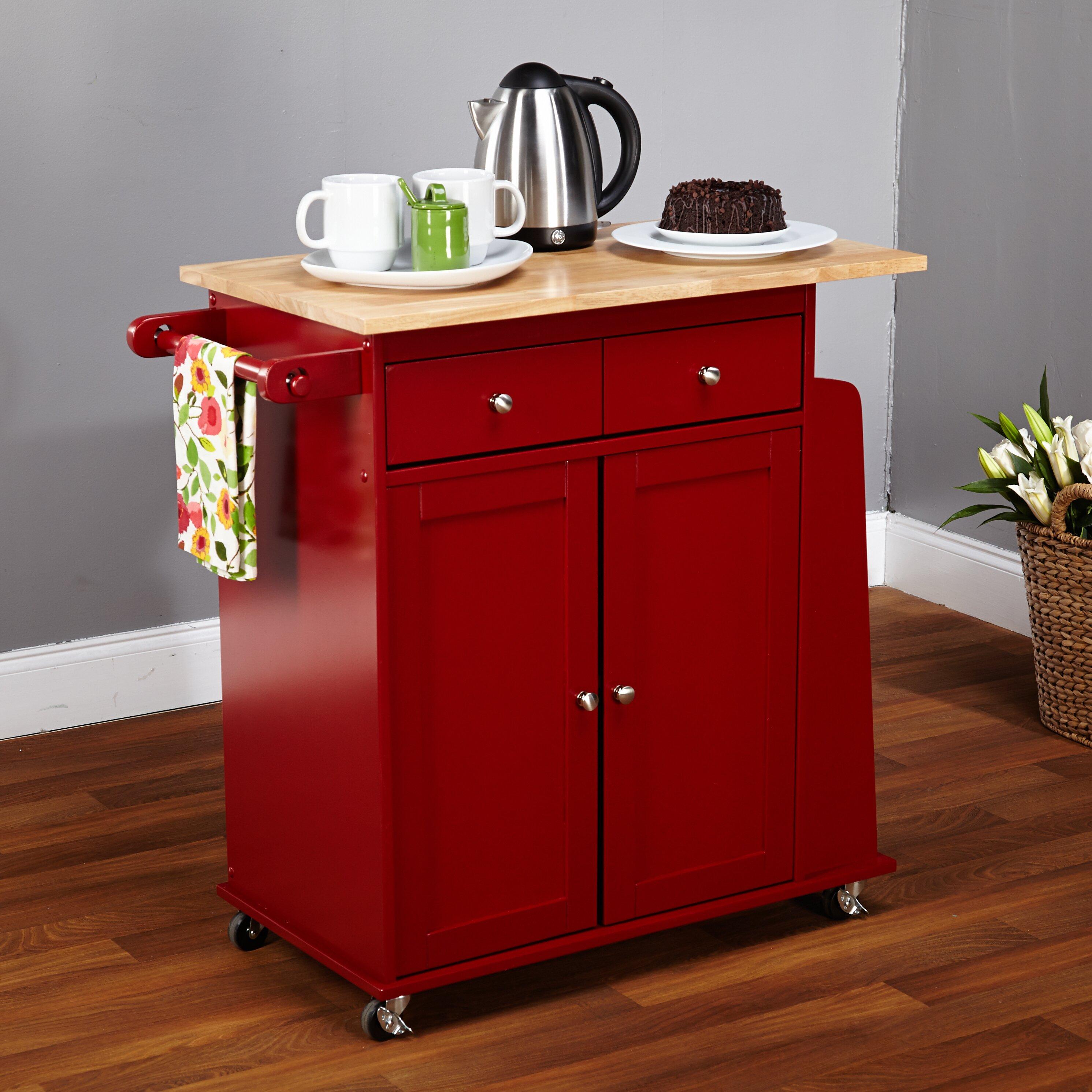 Kitchen Work Table On Wheels Kitchen Islands Carts Youll Love Wayfair