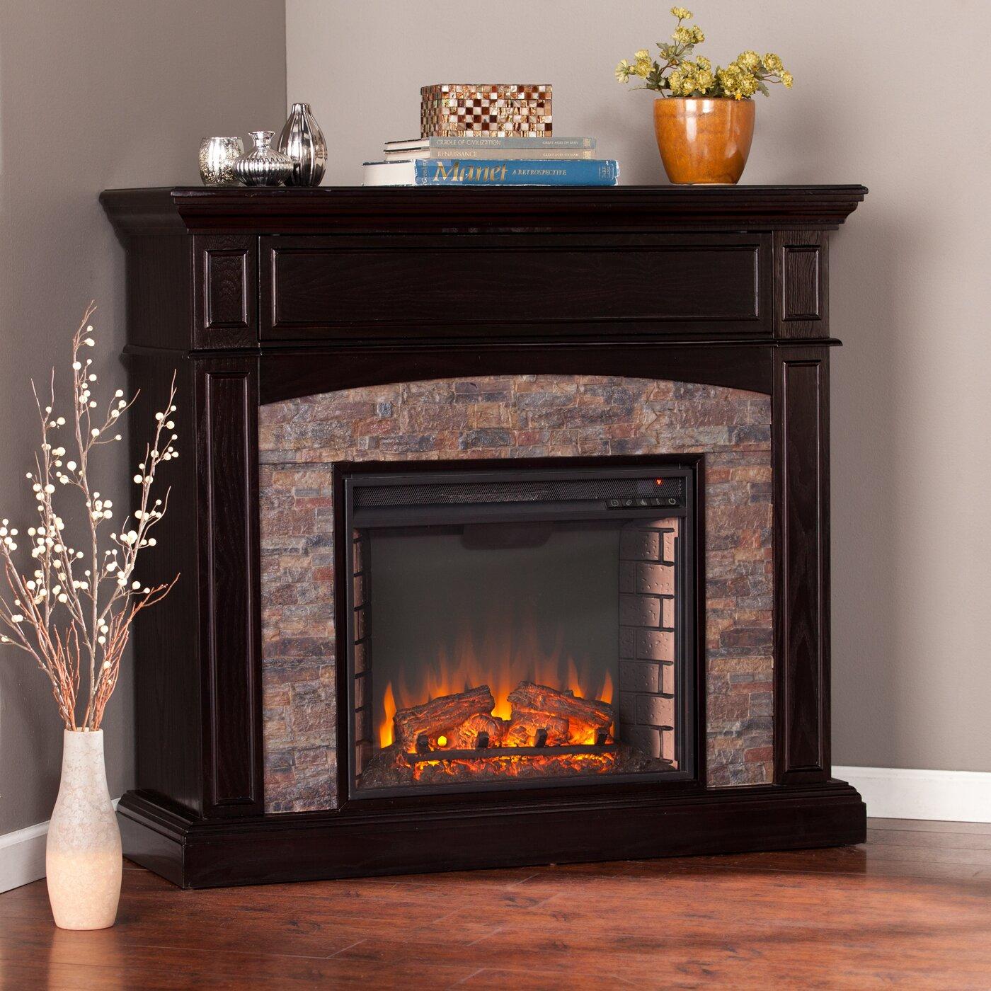 Alcott Hill® Drumbare Corner Electric Fireplace - Alcott Hill Drumbare Corner Electric Fireplace & Reviews Wayfair