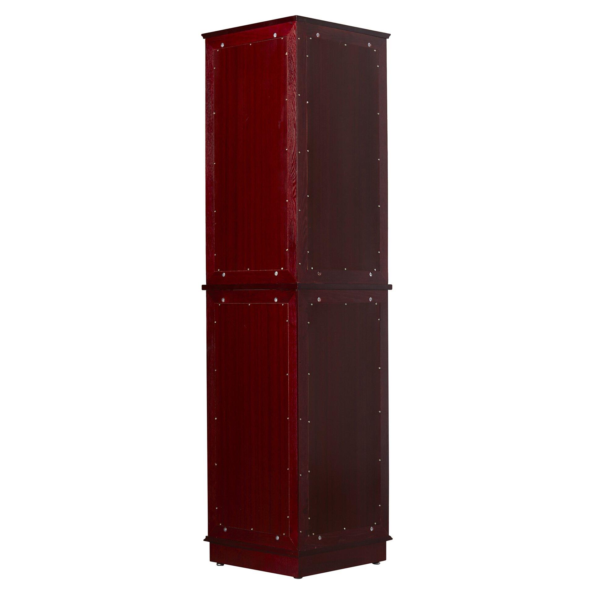 Charlton Home reg  Lohmer Corner Curio Cabinet. Charlton Home Lohmer Corner Curio Cabinet   Reviews   Wayfair