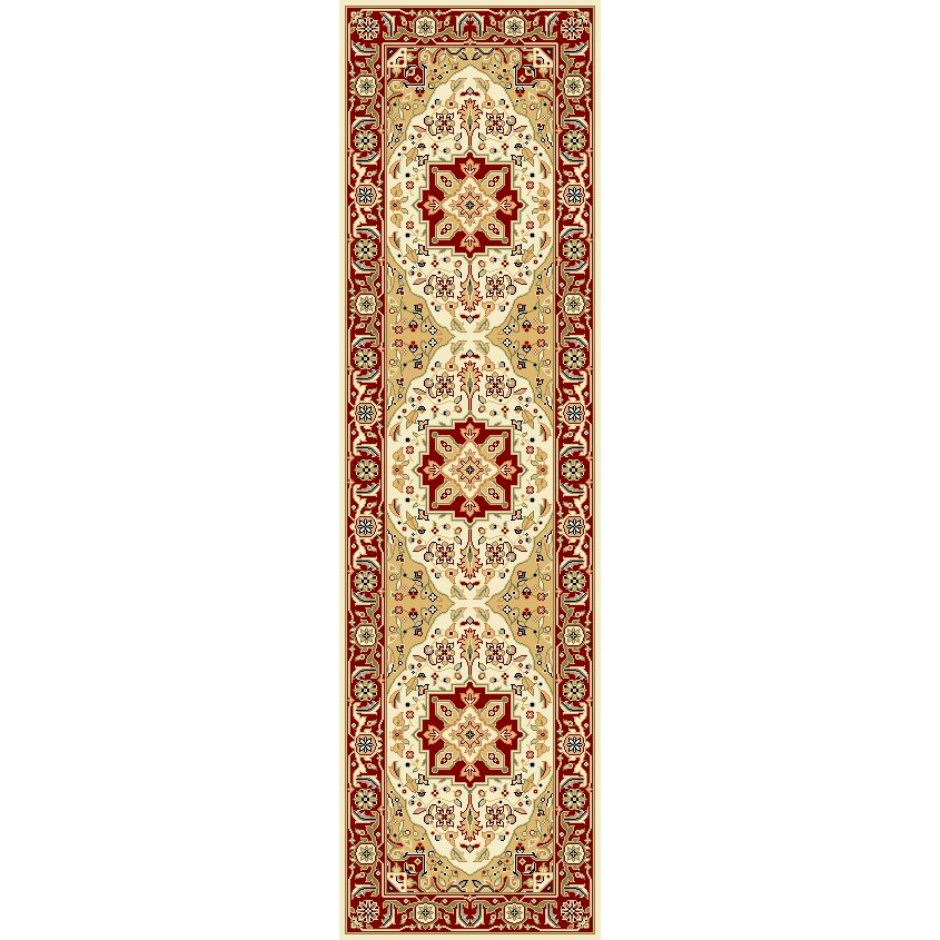 Charlton Home Harrop Ivory Burgundy Area Rug Amp Reviews