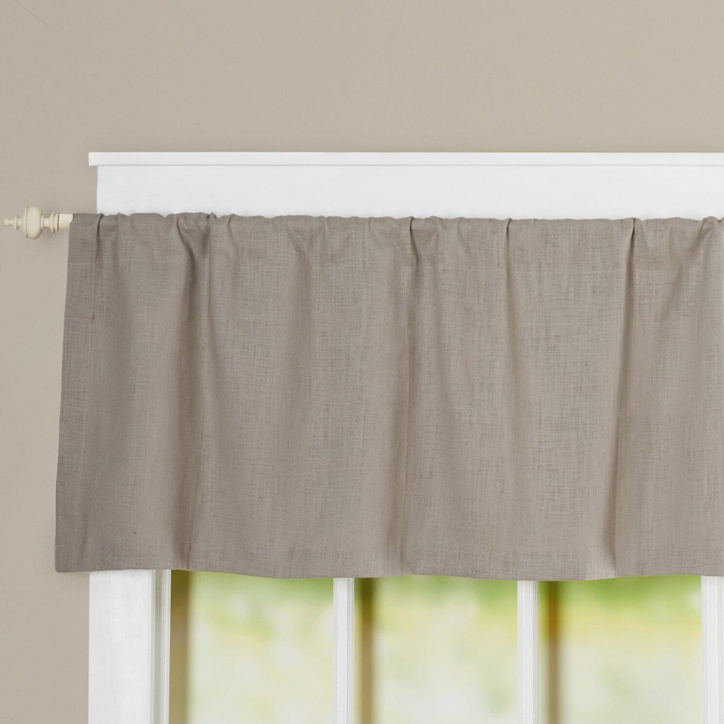 charlton home gatewood 50 curtain valance reviews wayfair