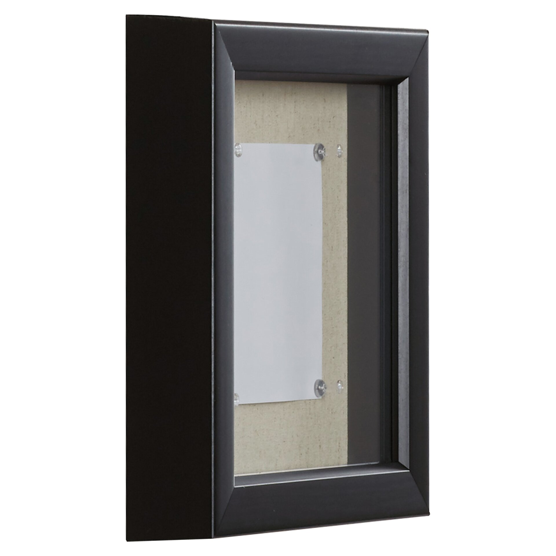 charlton home barker linen inner display board shadow box picture frame