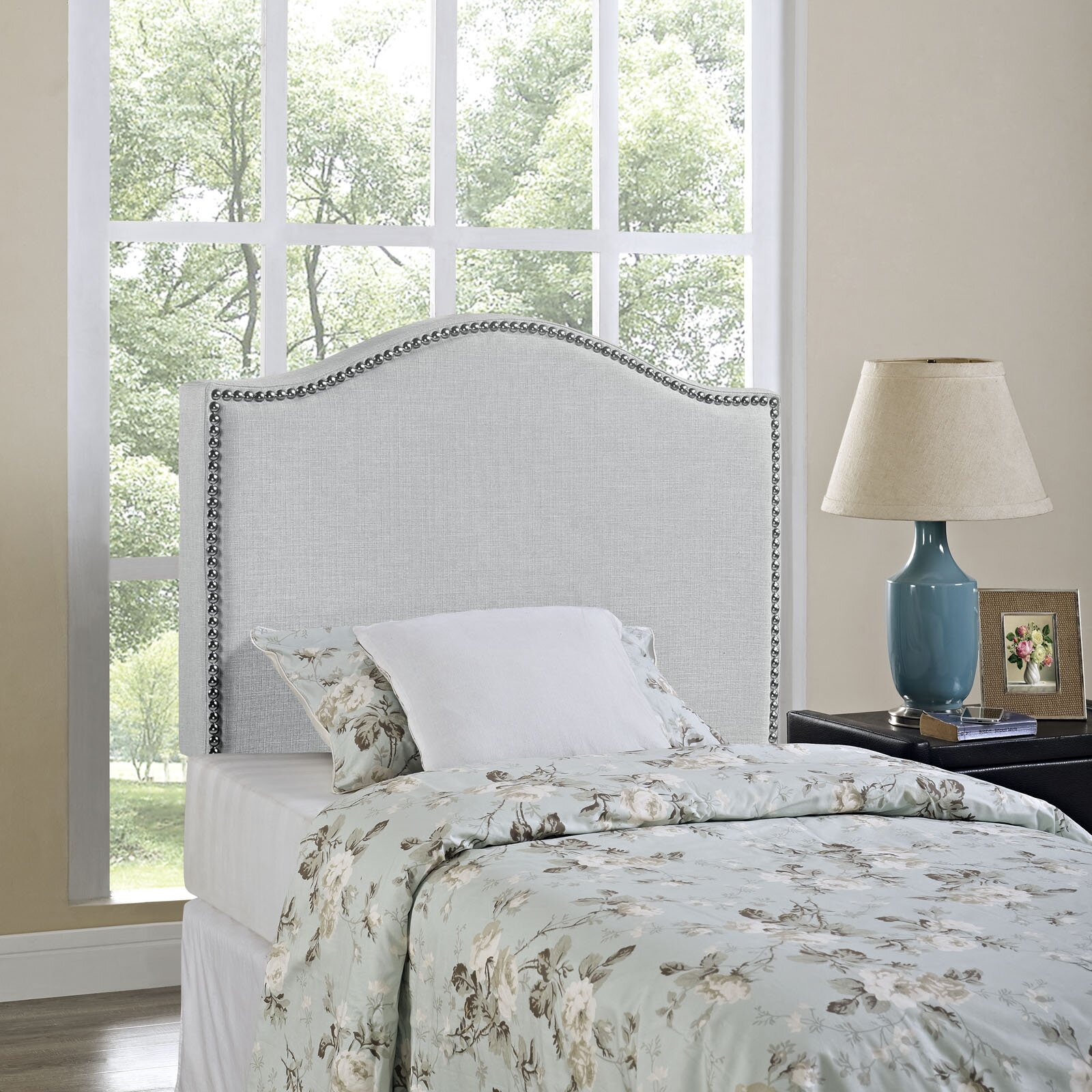 Bed frames headboards - Quick View Bransford Upholstered Panel Headboard