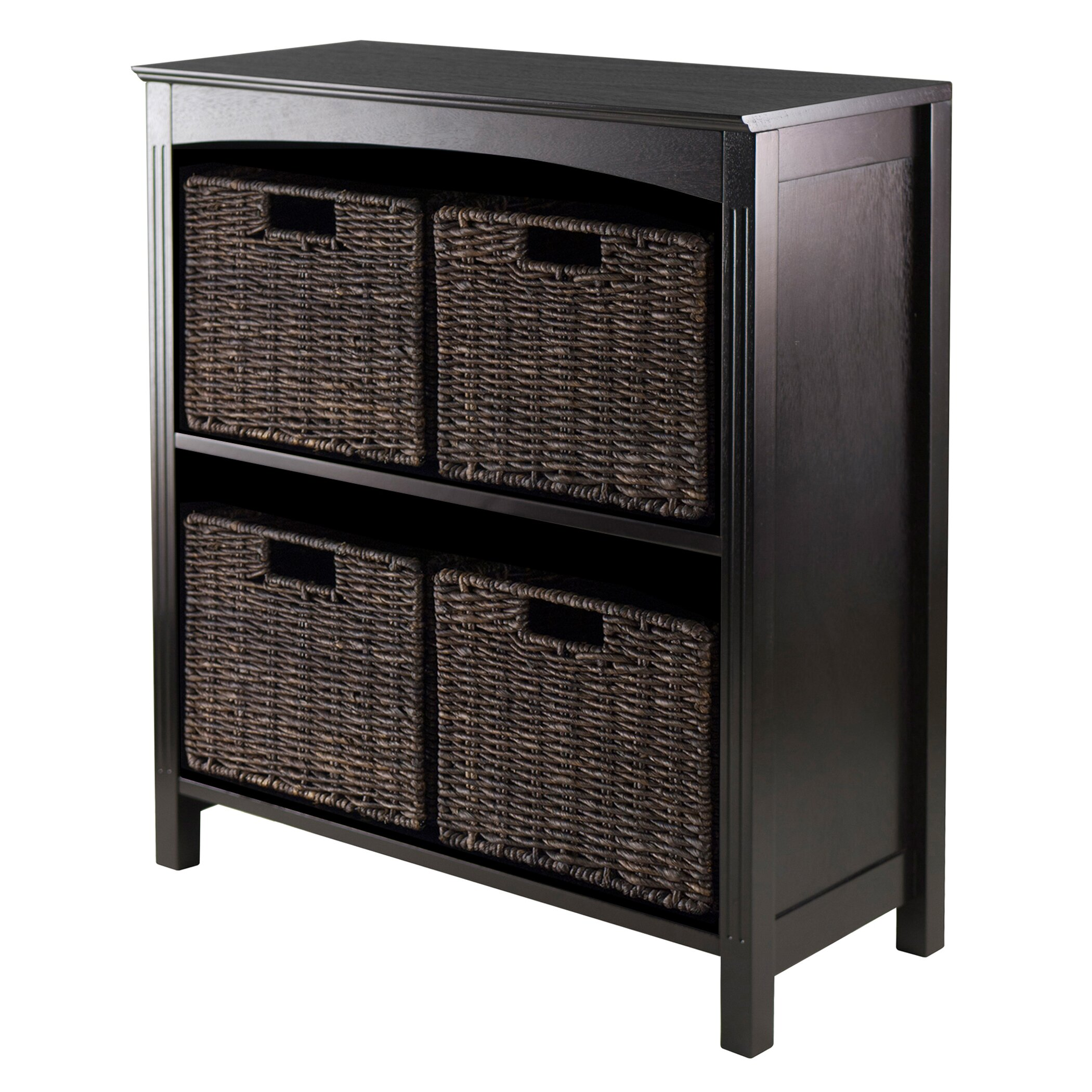 Charlton home martinsville 4 drawer storage shelf for Storage charlton