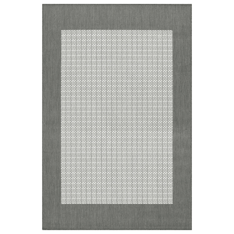 Checkered Outdoor Rug: Charlton Home Westlund Checkered Field Beige Indoor