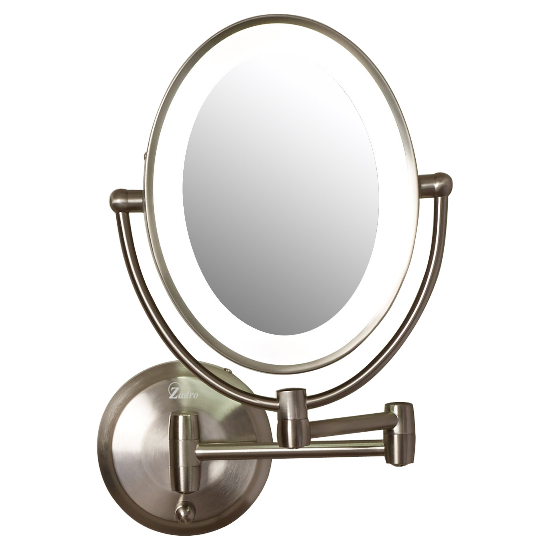 Wall mounted makeup mirror with lights - Mirrors Simplehuman Inch Wall Mounted Sensor Mirror Lighted Makeup