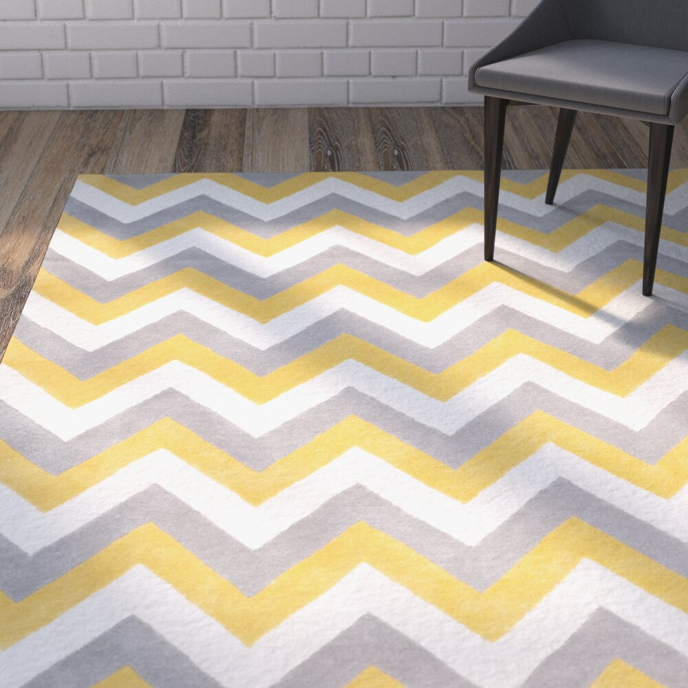 Martins Grey u0026 Gold Area Rug