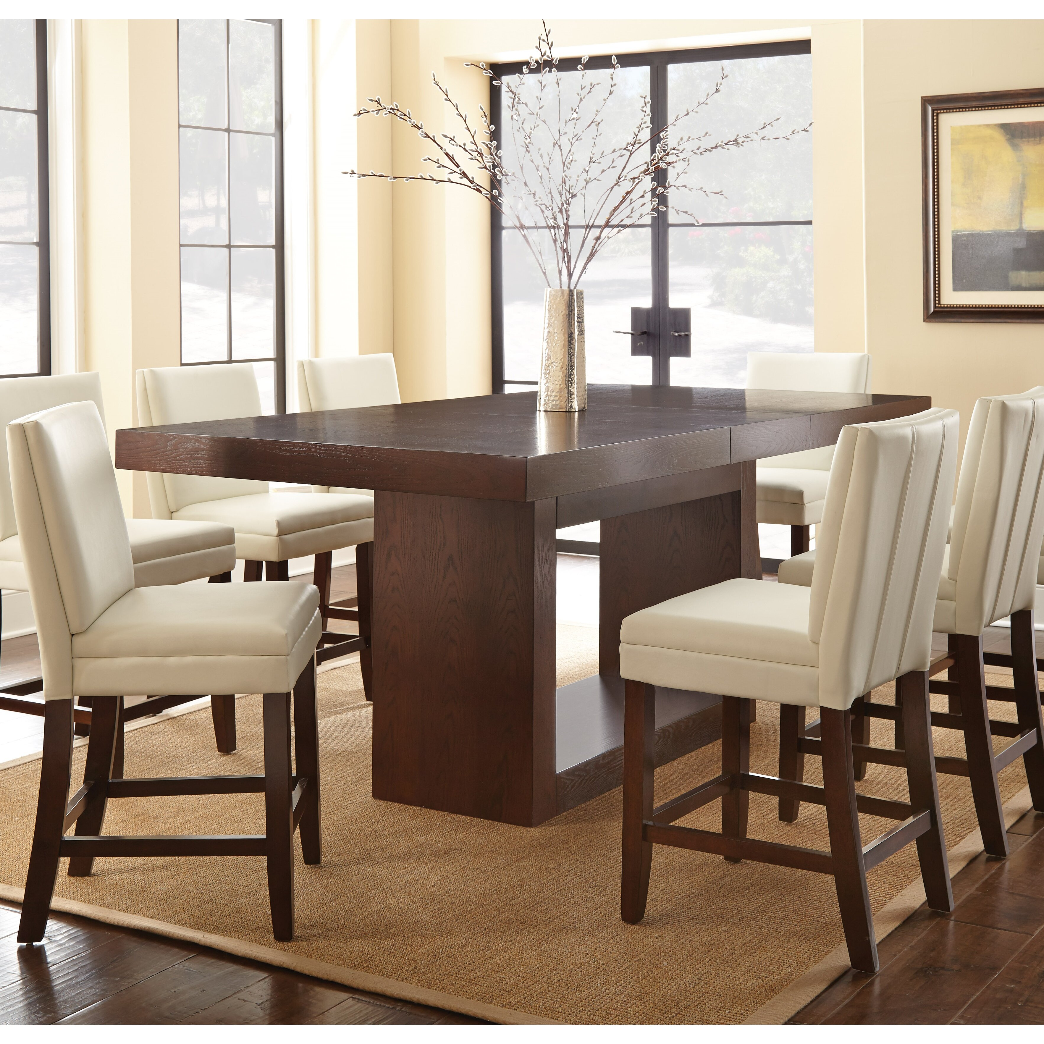 brayden studio antonio counter height dining table