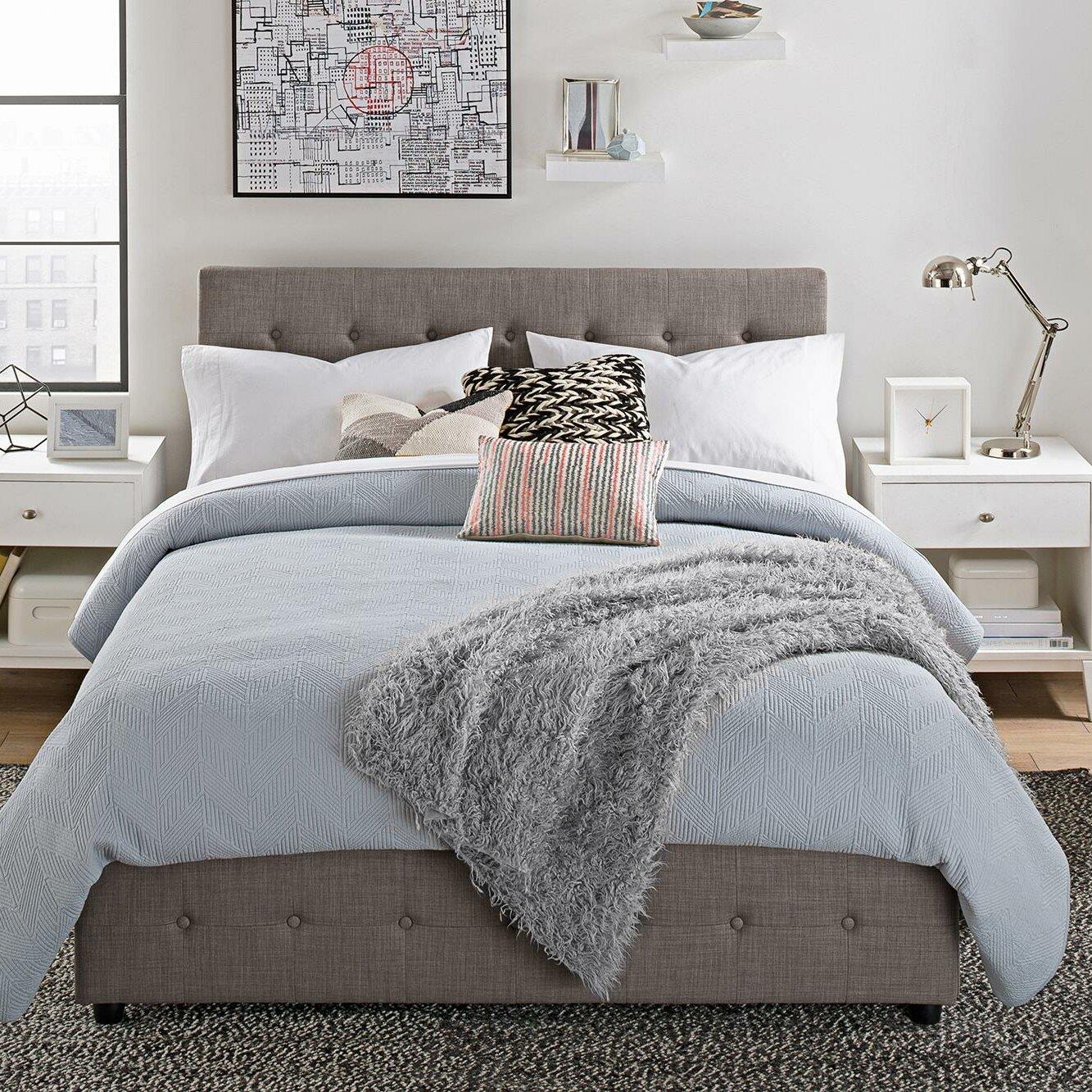 Brayden Studio Morphis Upholstered Platform Bed