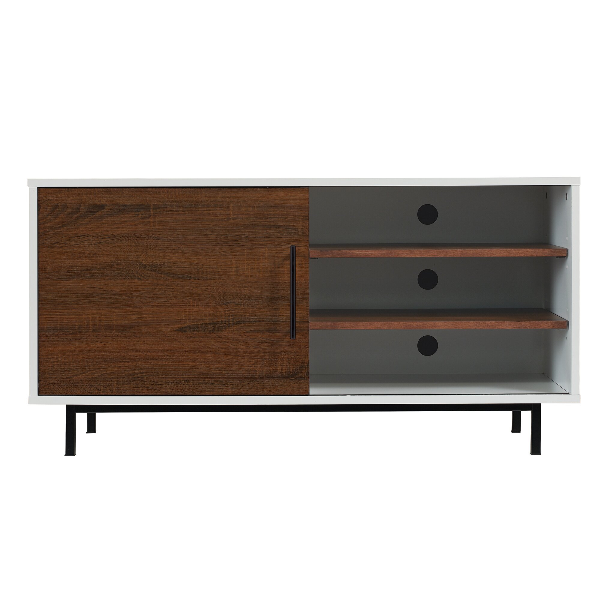 Tv Stereo Stands Cabinets Nadler Tv Stand Reviews Allmodern