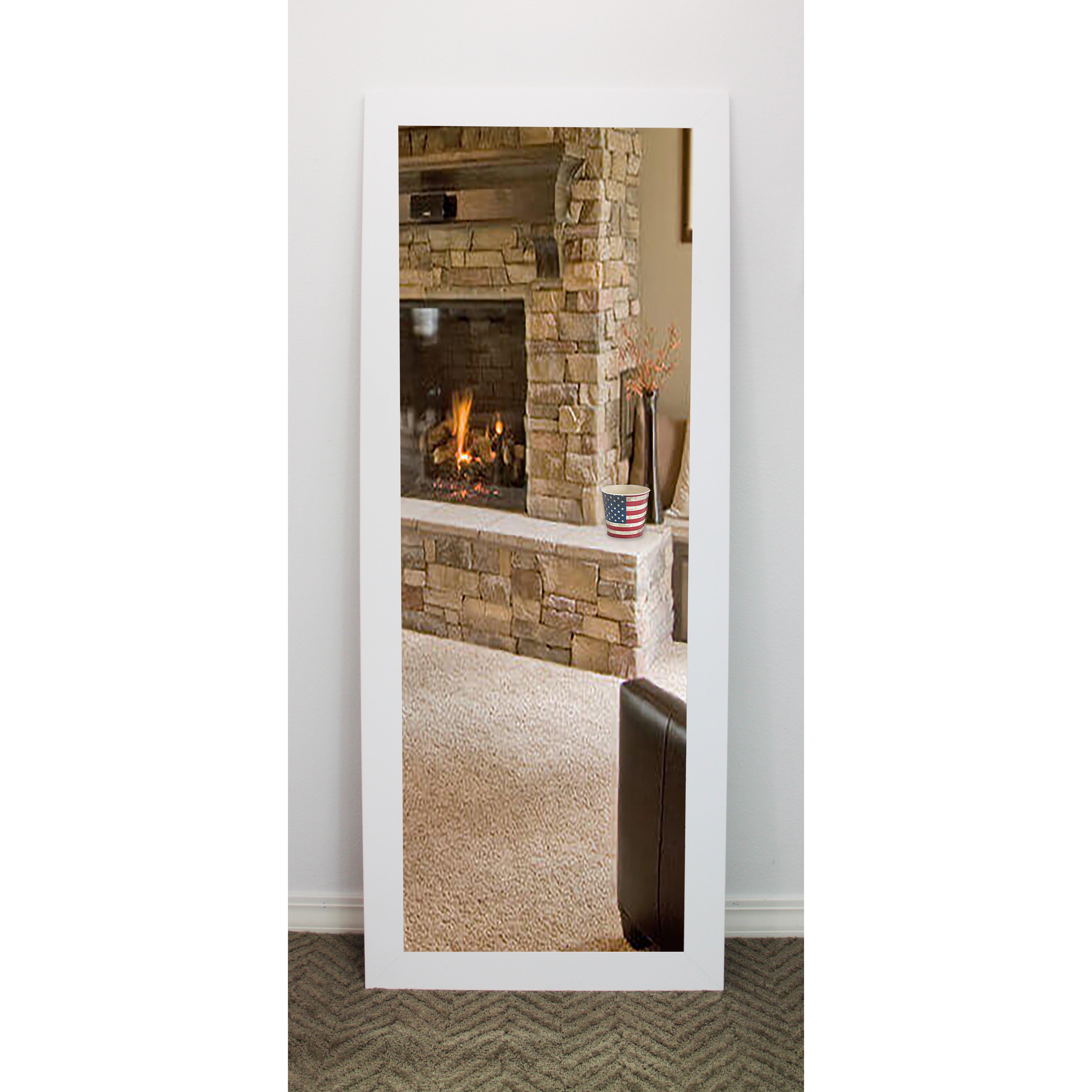 brayden studio white vanity wall mirror reviews