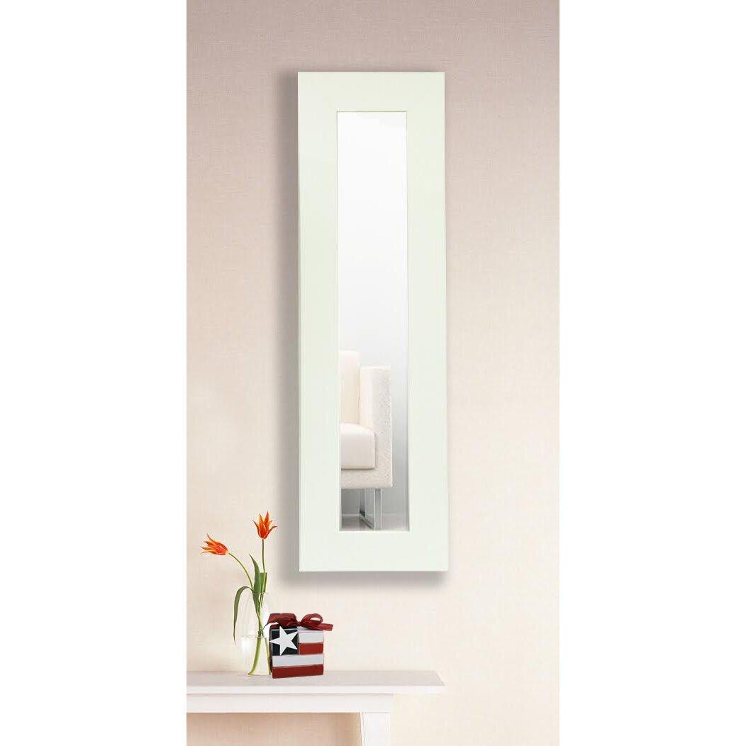 Brayden Studio Classic White Vanity Wall Mirror  Reviews Wayfair - Mirror on a stand vanity