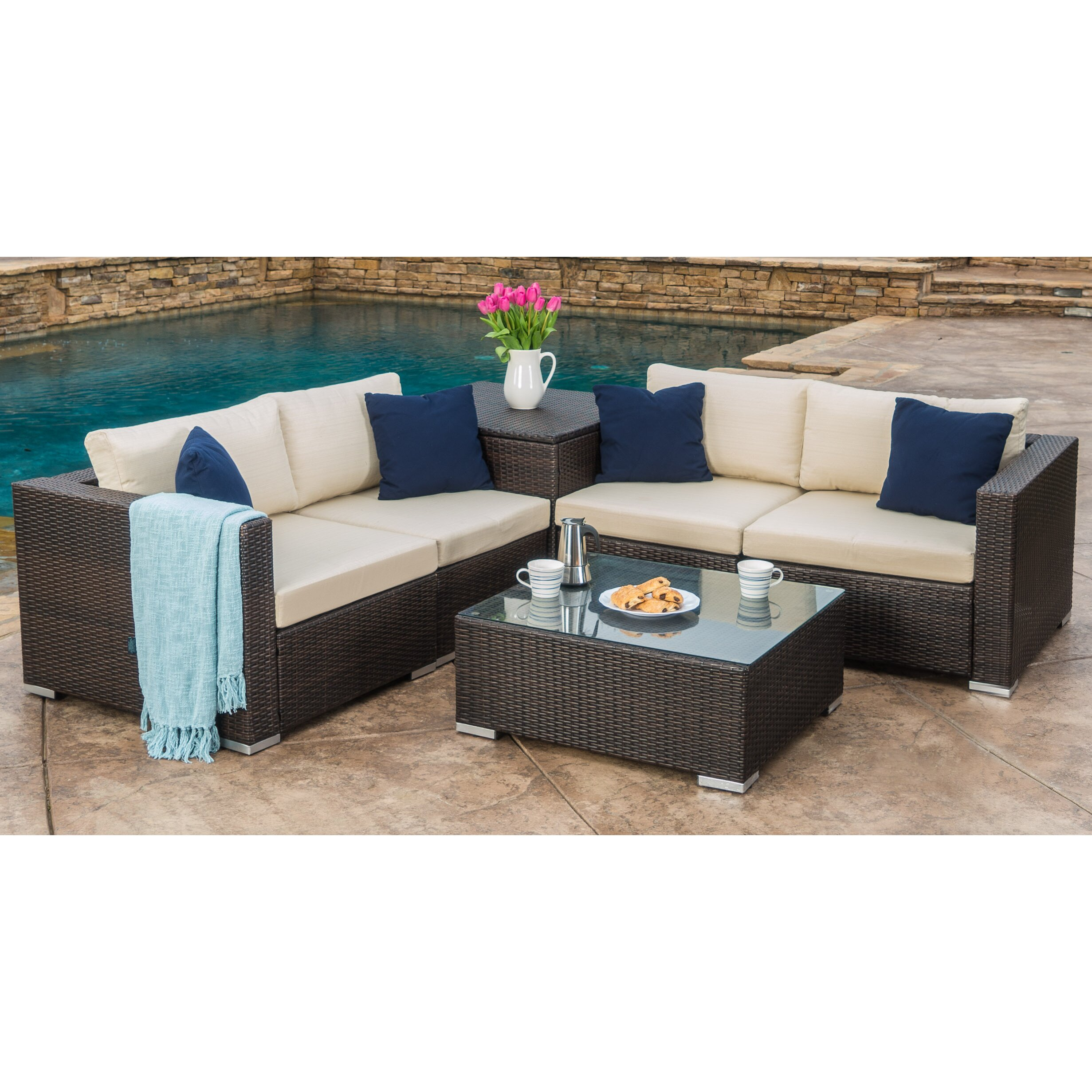 Outdoor Sectional Seating