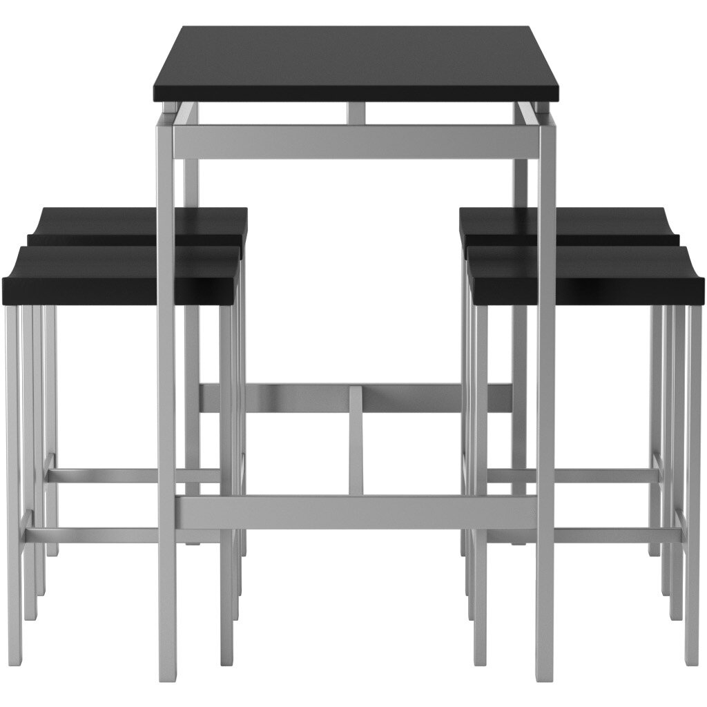 5 Piece Bar Table Set Swigart 5 Piece Pub Table Set Reviews Allmodern