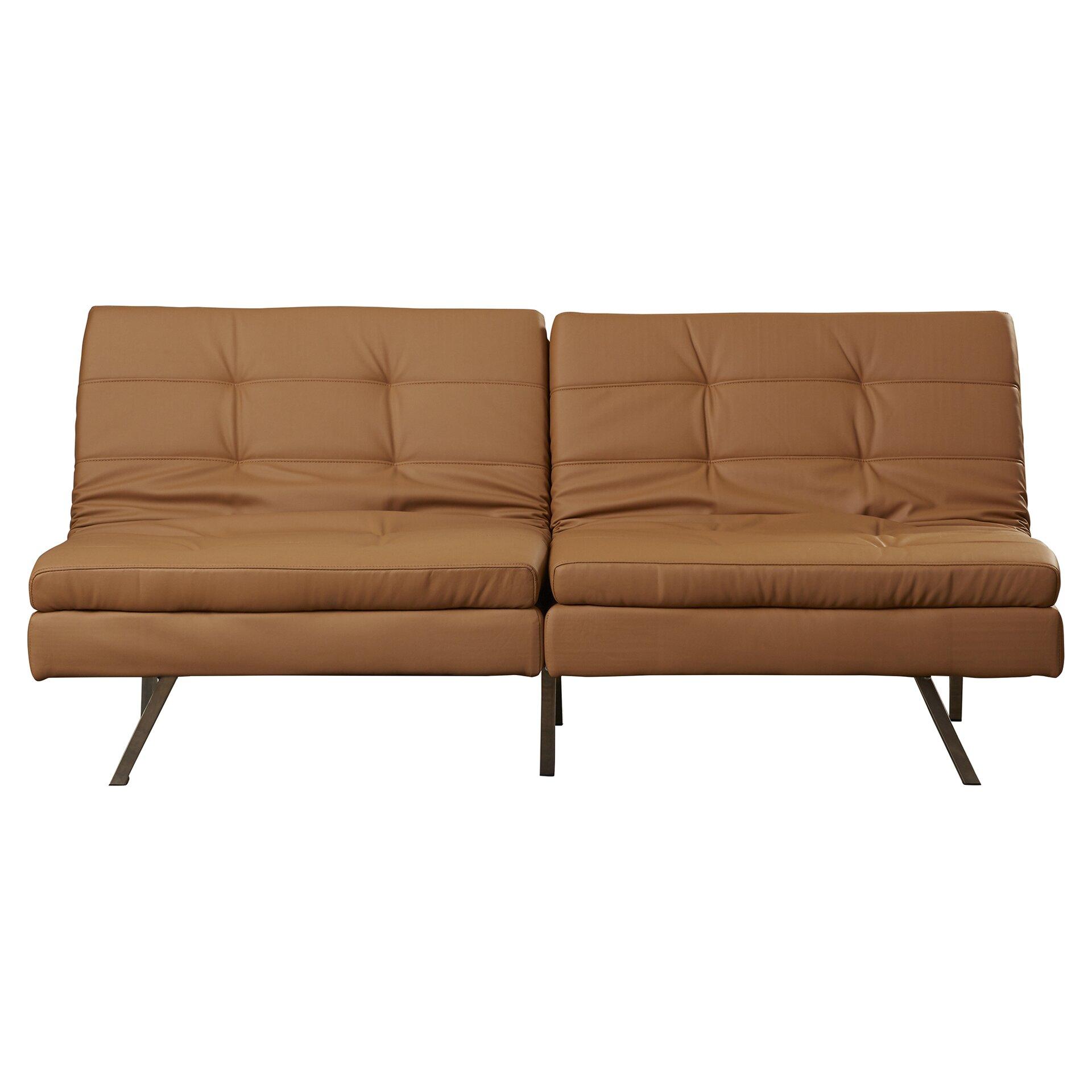 Wade logan devonte foldable futon sofa bed reviews wayfair for Futon sofa bed reviews