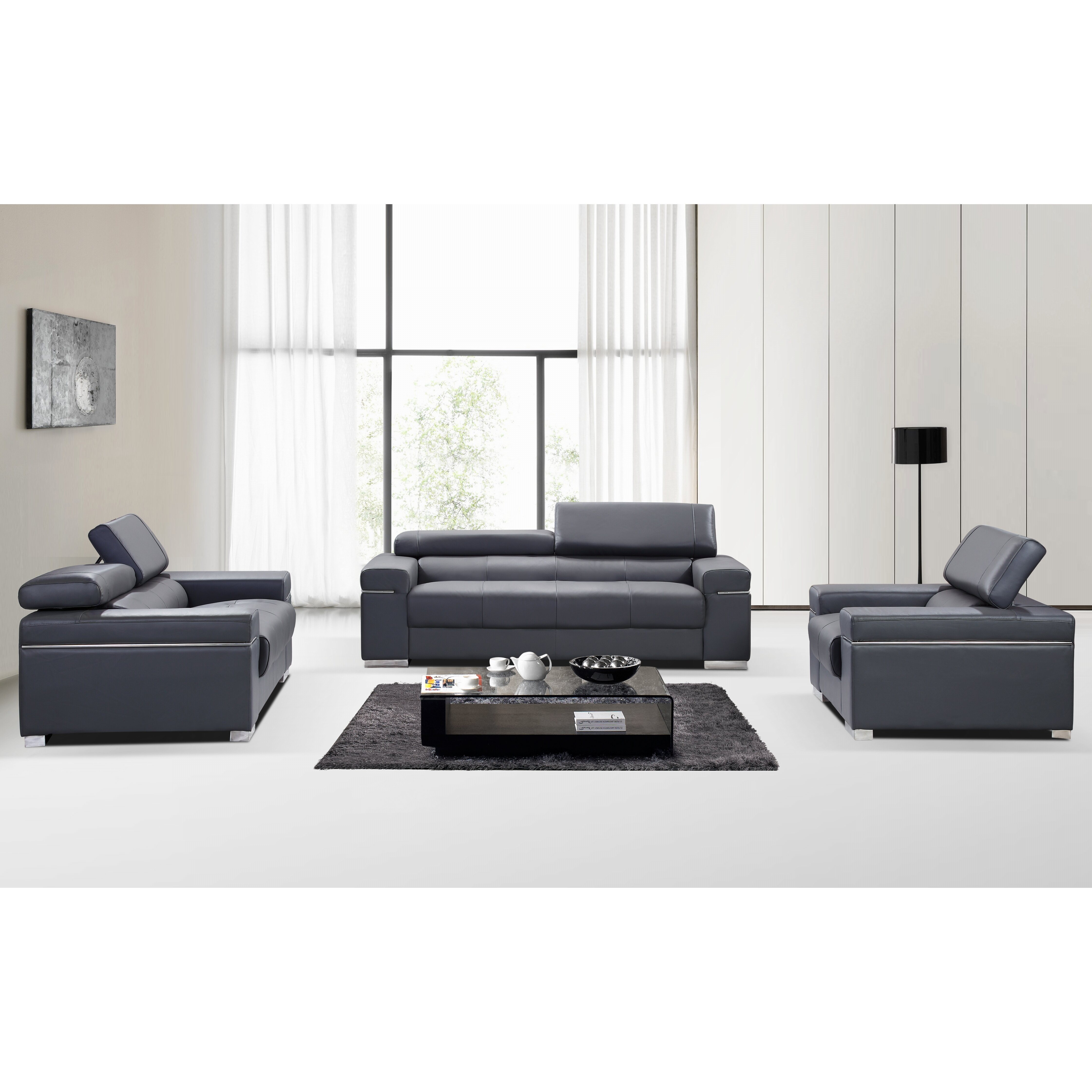 Logan Sectional Sofa Set By Ashley Furniture