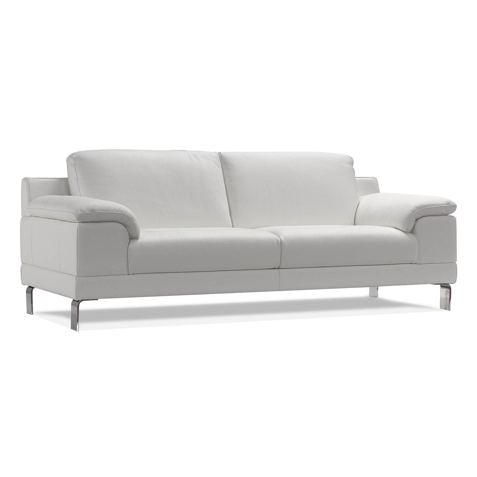 Wade Logan Sandpoint Leather Sofa