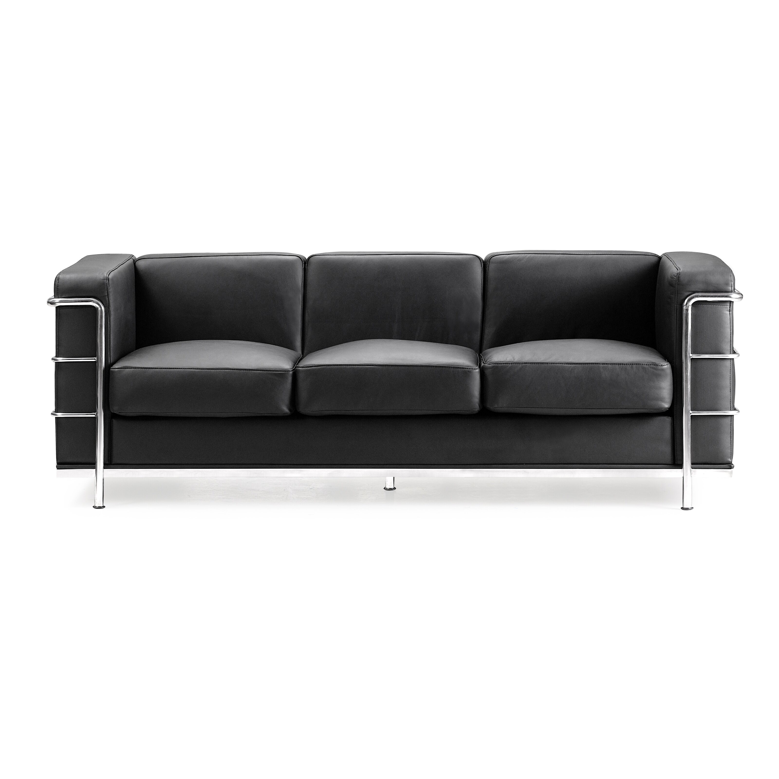 Wade Logan Gallagher Leather Sofa Reviews Wayfair