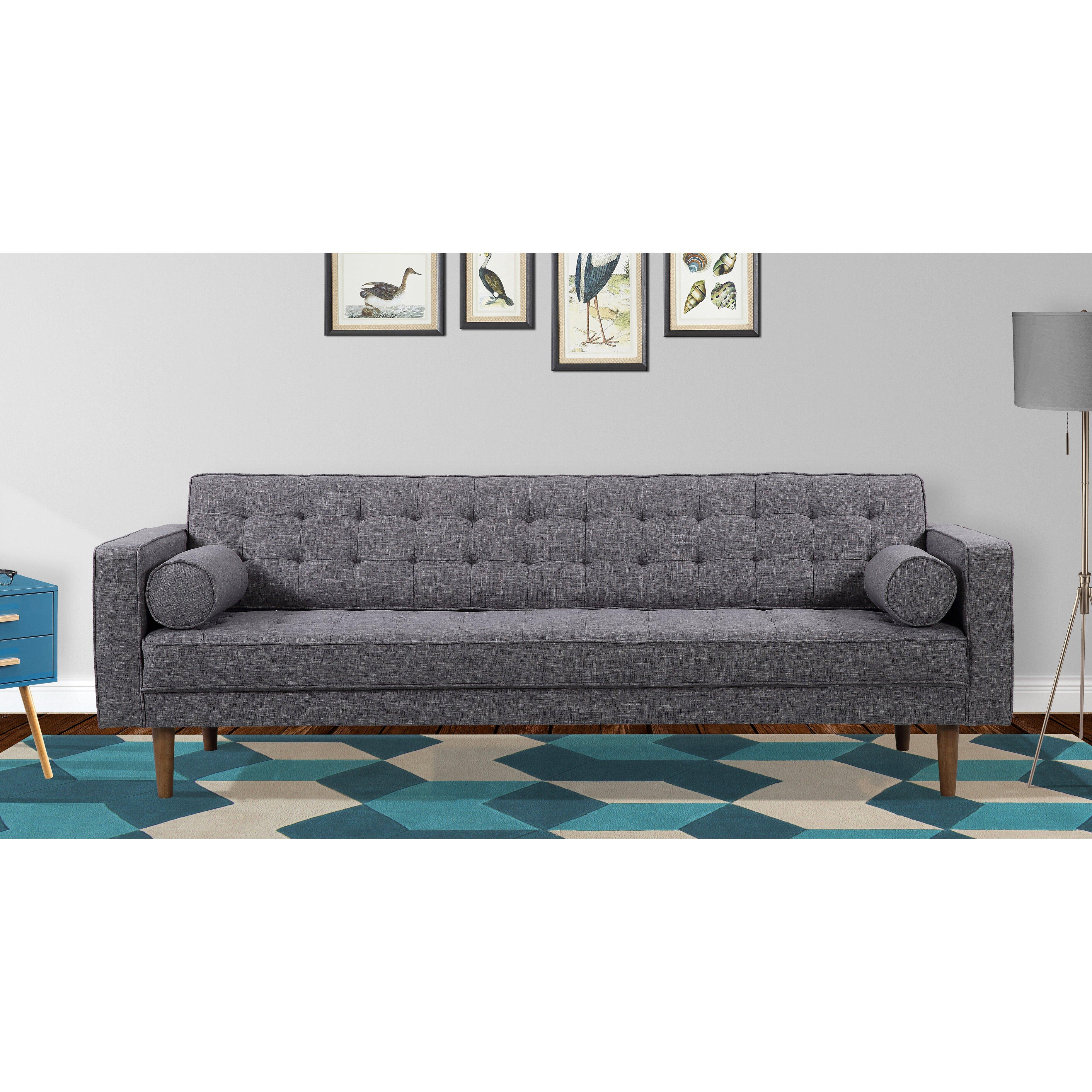 ^ orrigan Studio Nietos Mid-entury Modern Sofa & eviews Wayfair