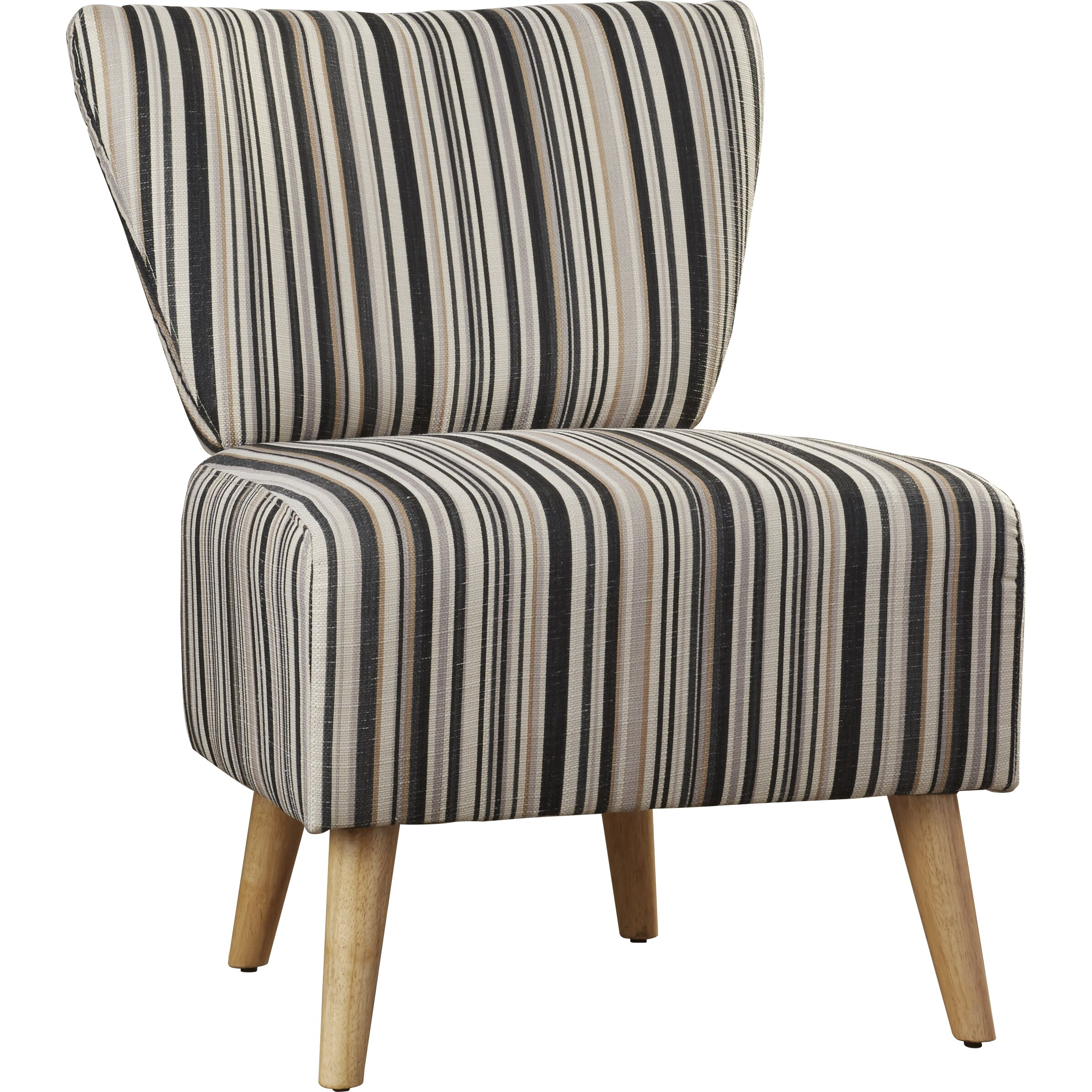 ... Patio Furniture Kona Hawaii · Langley Street Honolulu Stripe Print  Slipper Chair ...
