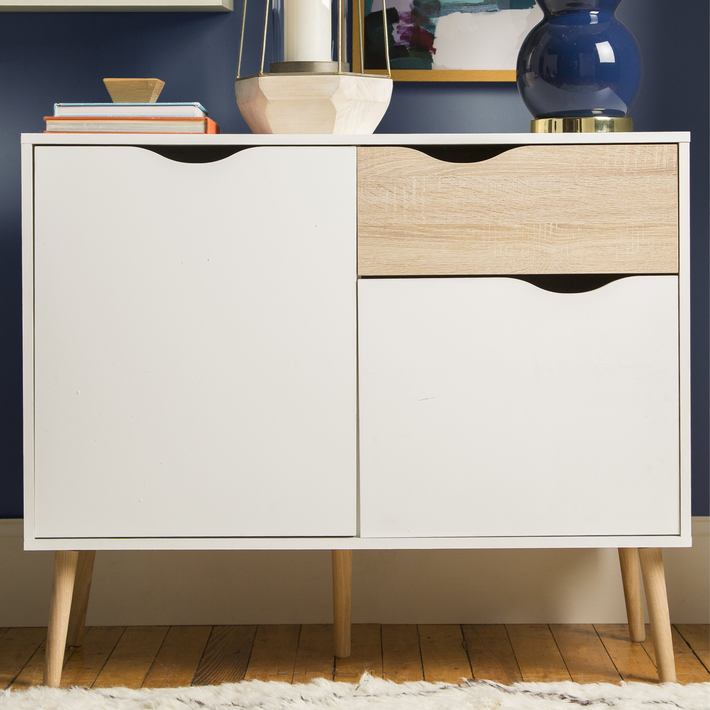 white sideboards buffets you ll love wayfair pajaro server