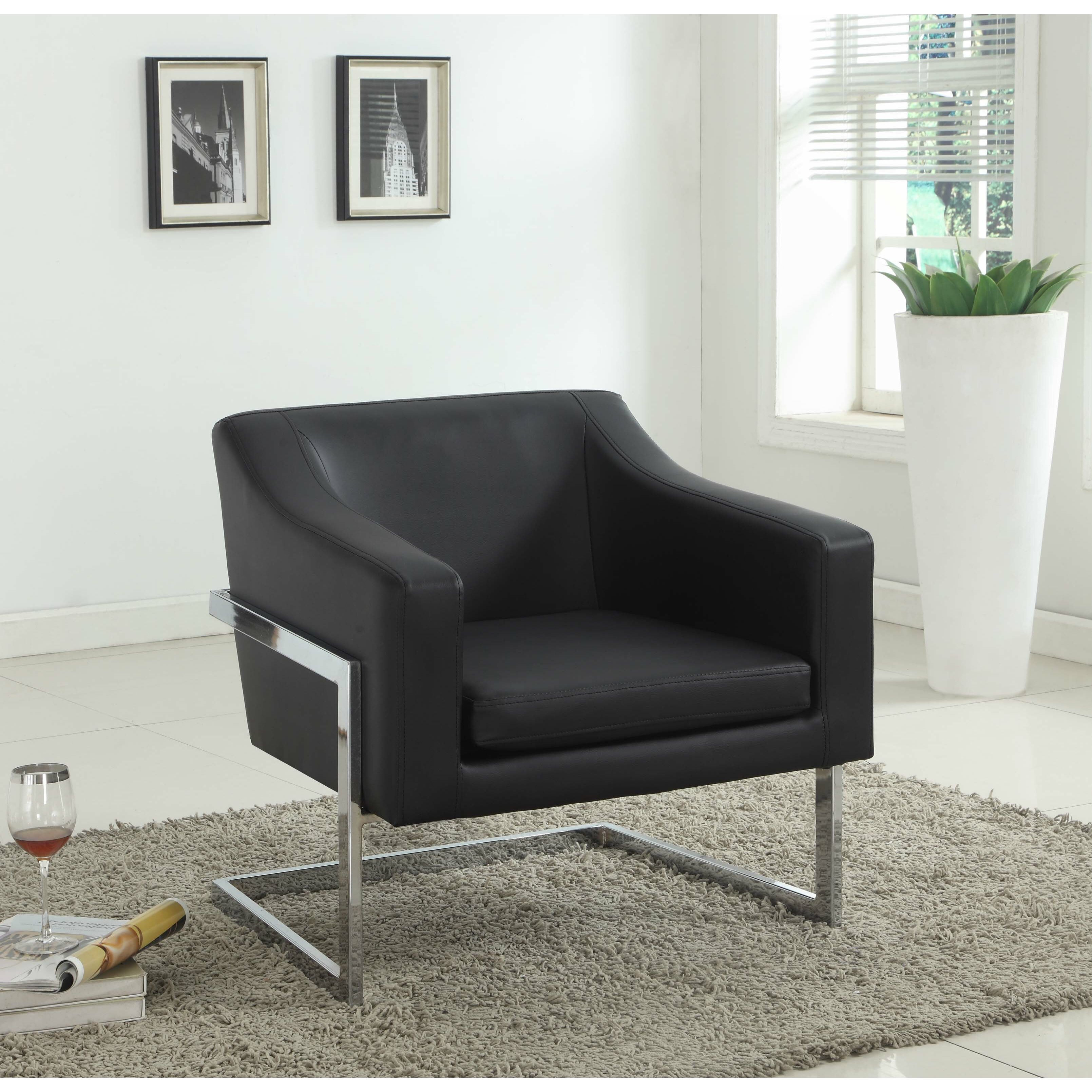 Living Room Club Chairs Bestmasterfurniture Modern Club Chair With Chrome Legs Reviews