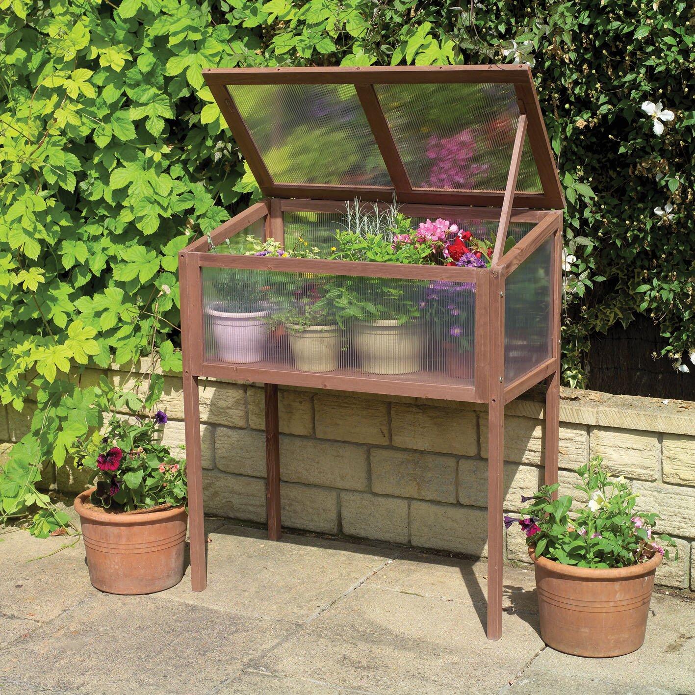gardman 35 ft w x 3 ft d cold frame greenhouse