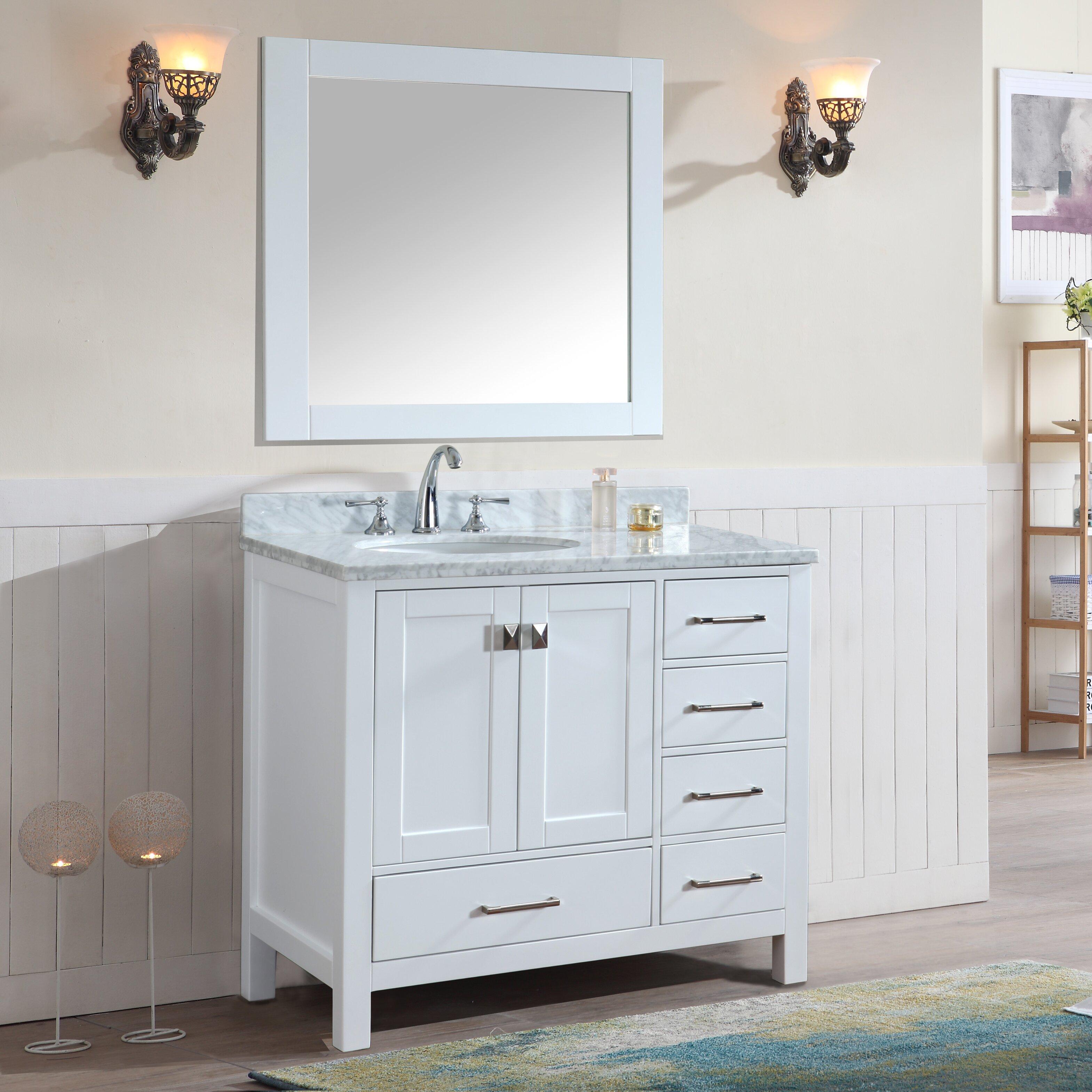 "Ari Kitchen & Bath Bella 36"" Single Bathroom Vanity Set"