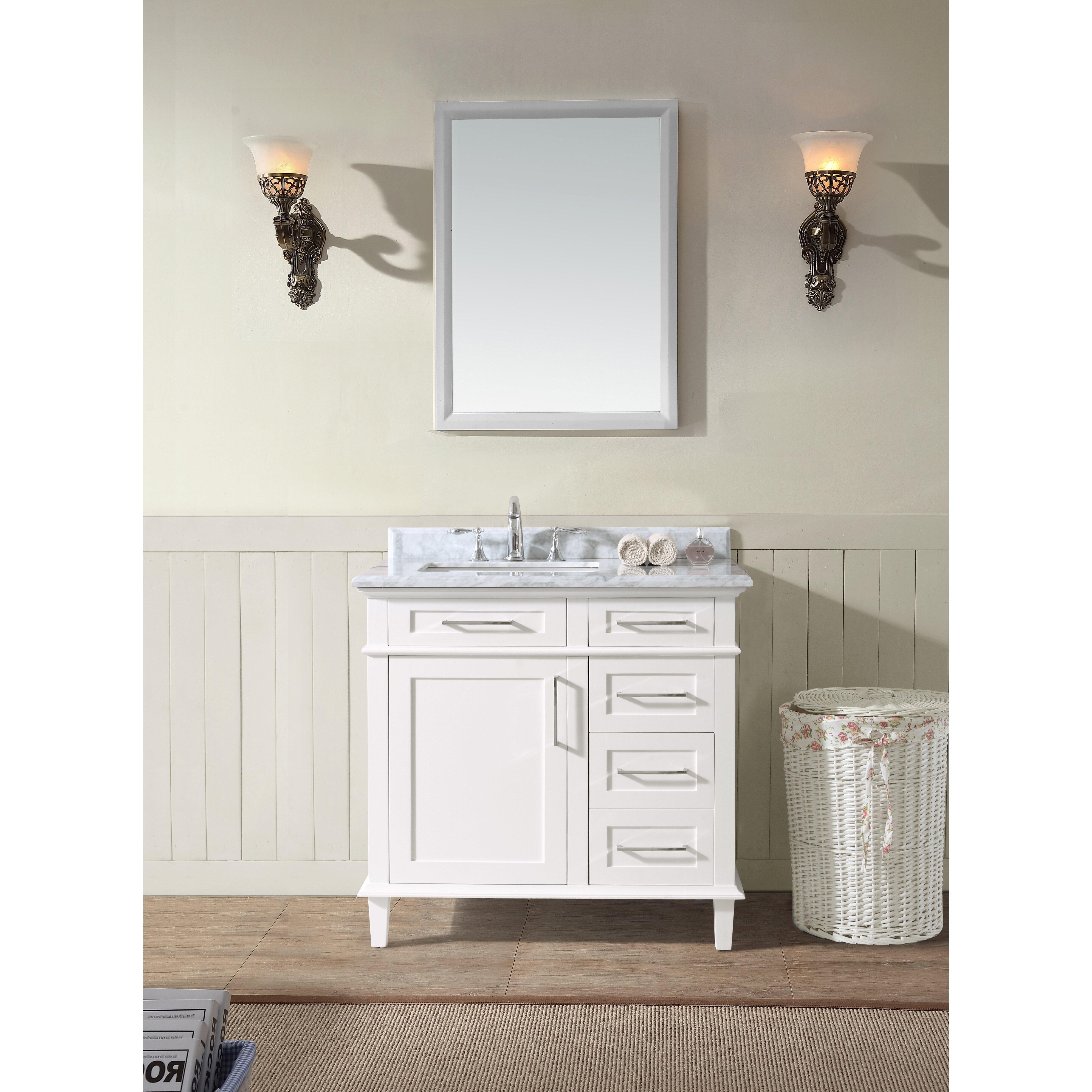 Ari Kitchen  amp  Bath Newport 36 quot  Single Bathroom Vanity Set. Ari Kitchen   Bath Newport 36  Single Bathroom Vanity Set