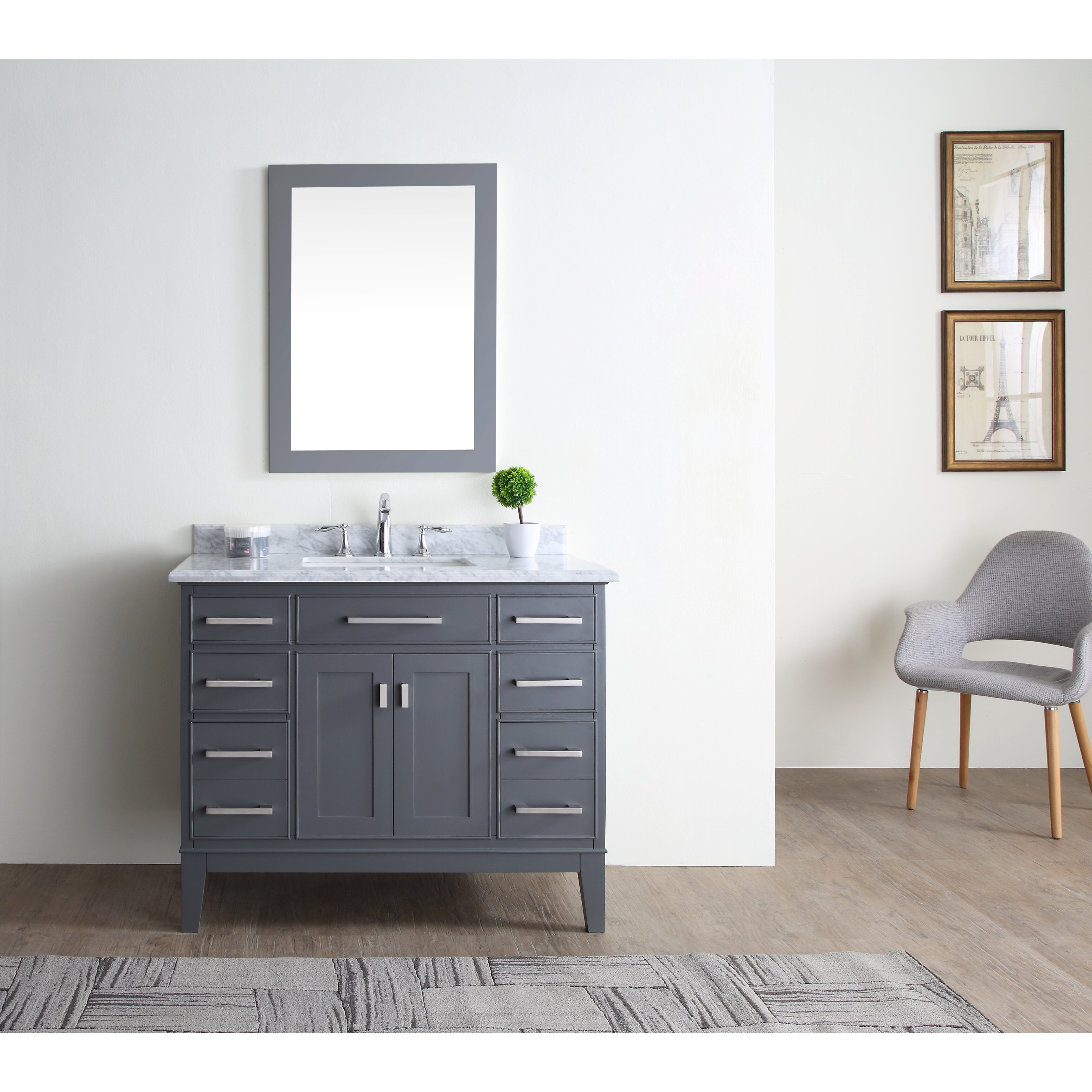 42 Bathroom Vanity Ari Kitchen Bath Danny 42 Single Bathroom Vanity Set Reviews
