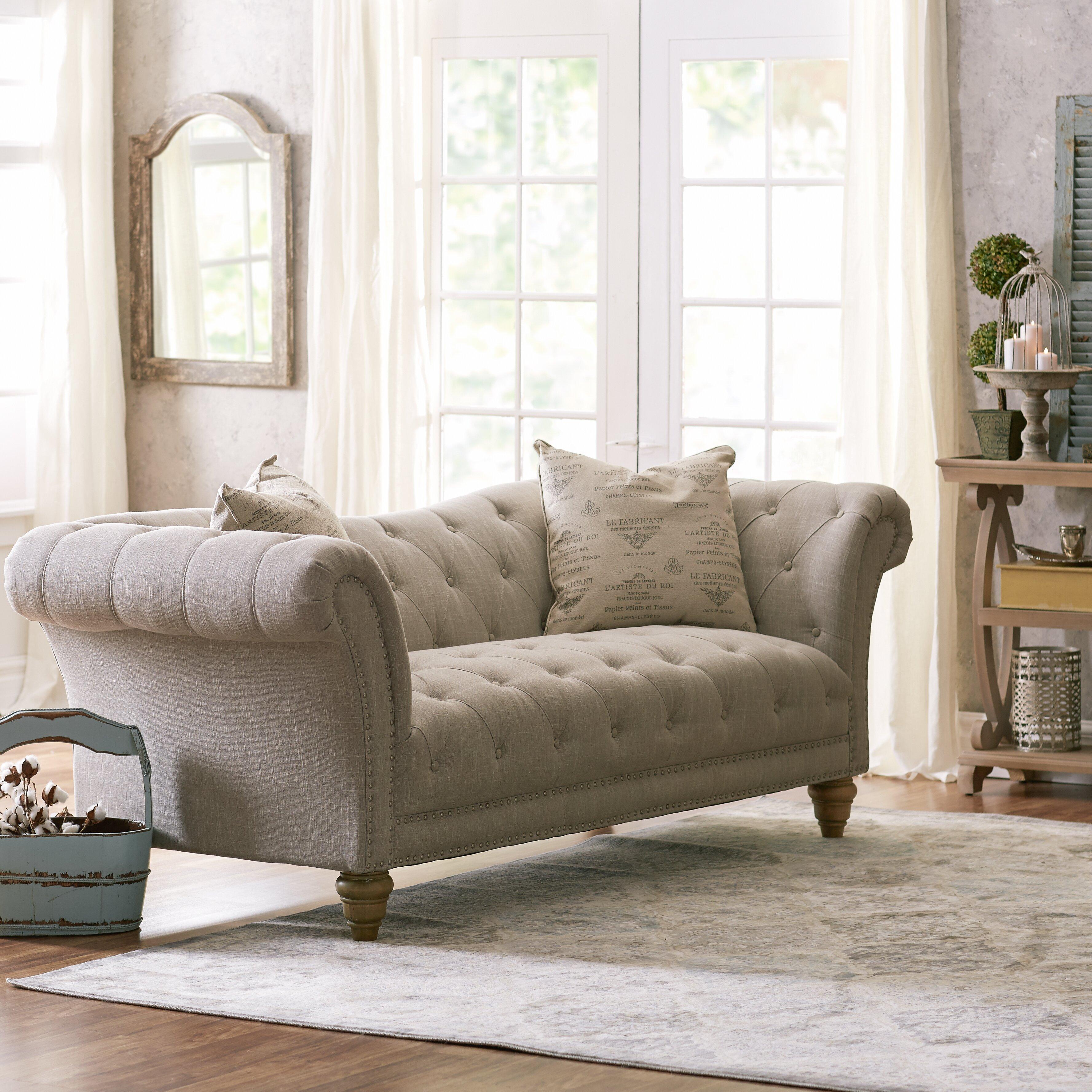 Lark Manor Versailles Sofa Amp Reviews Wayfair
