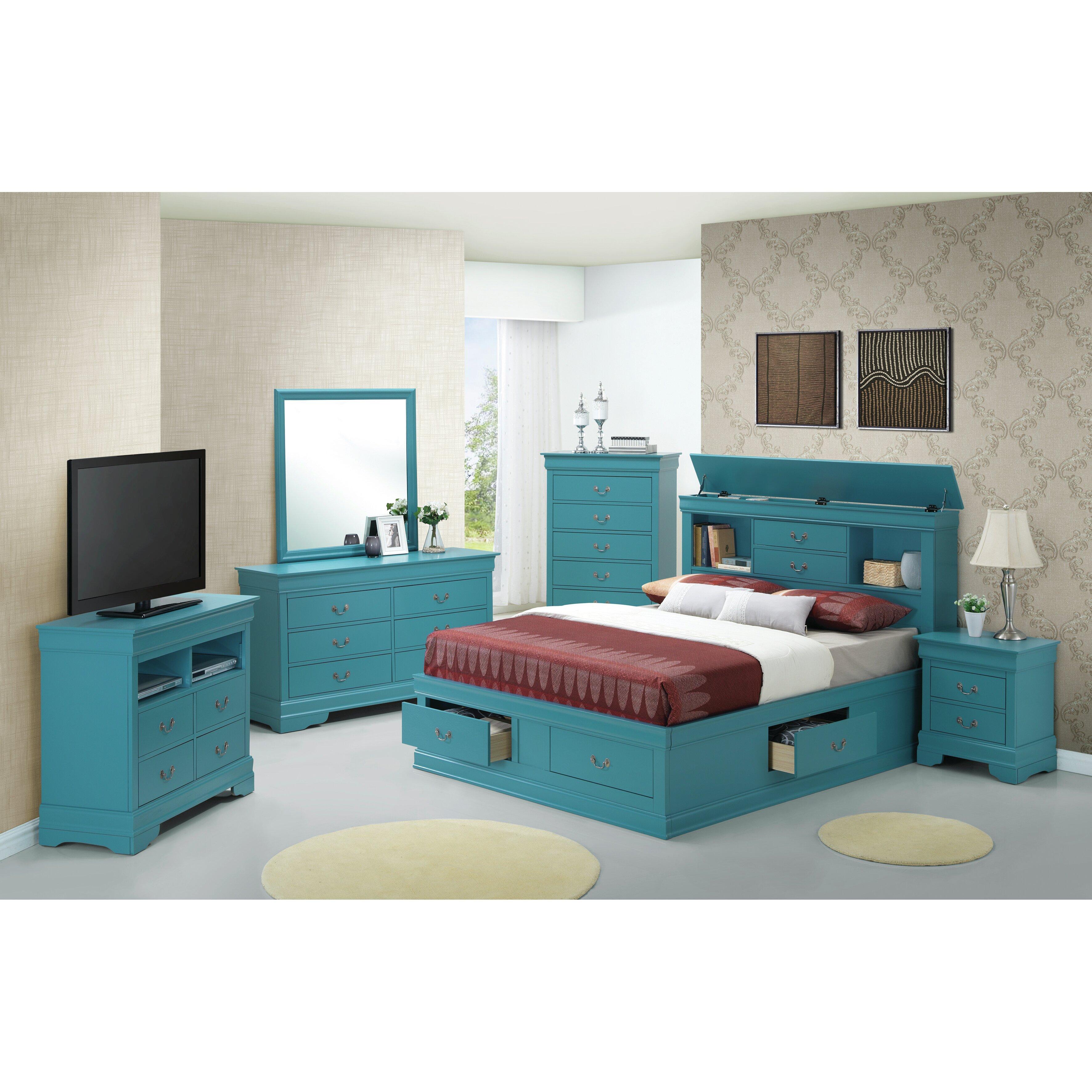 Stuff your stuff platform bed - Lark Manor Corbeil Platform Bed Stuff Your Stuff Platform Bed