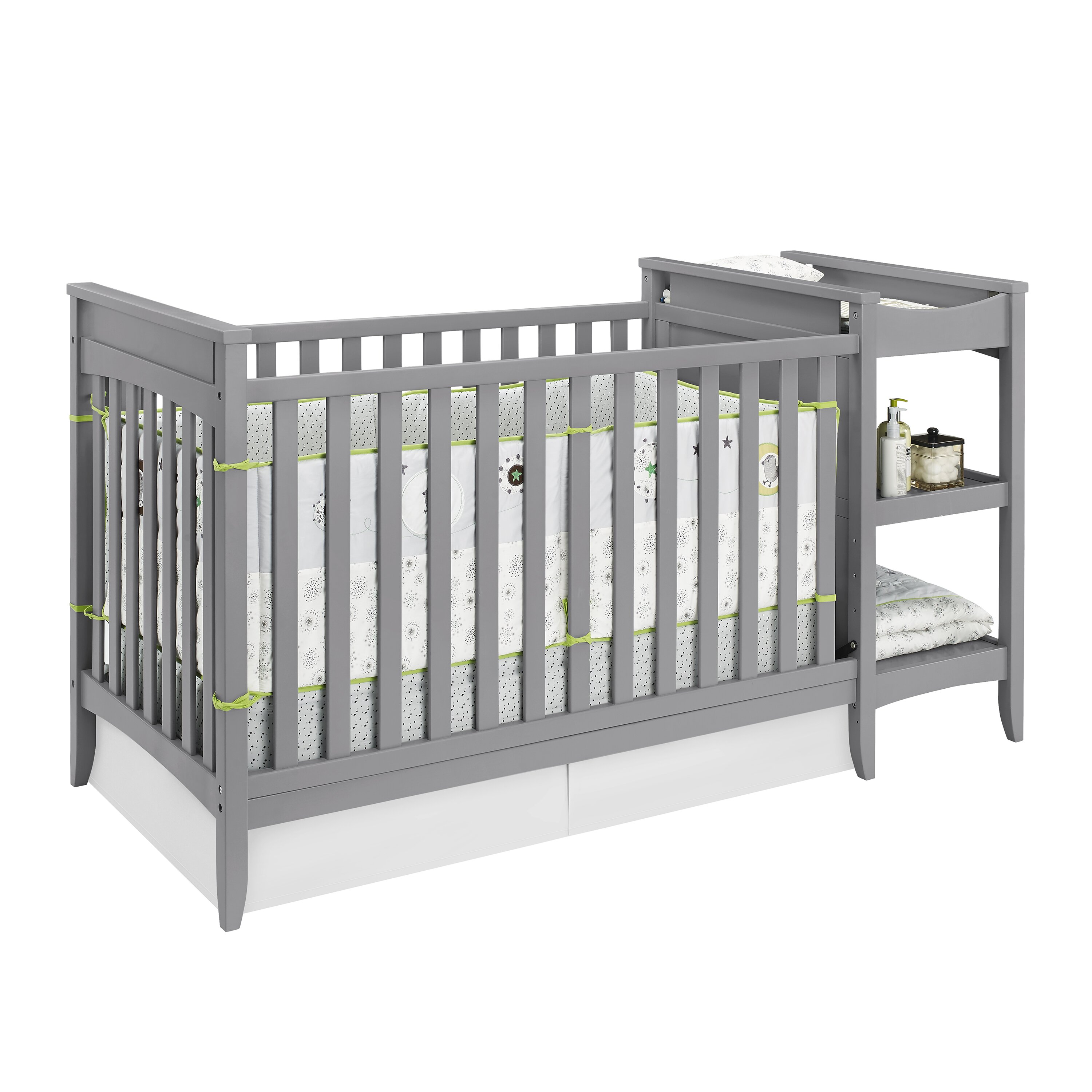 Emma iron crib for sale - Baby Relax Emma 2 In 1 Convertible Crib With Changing Table