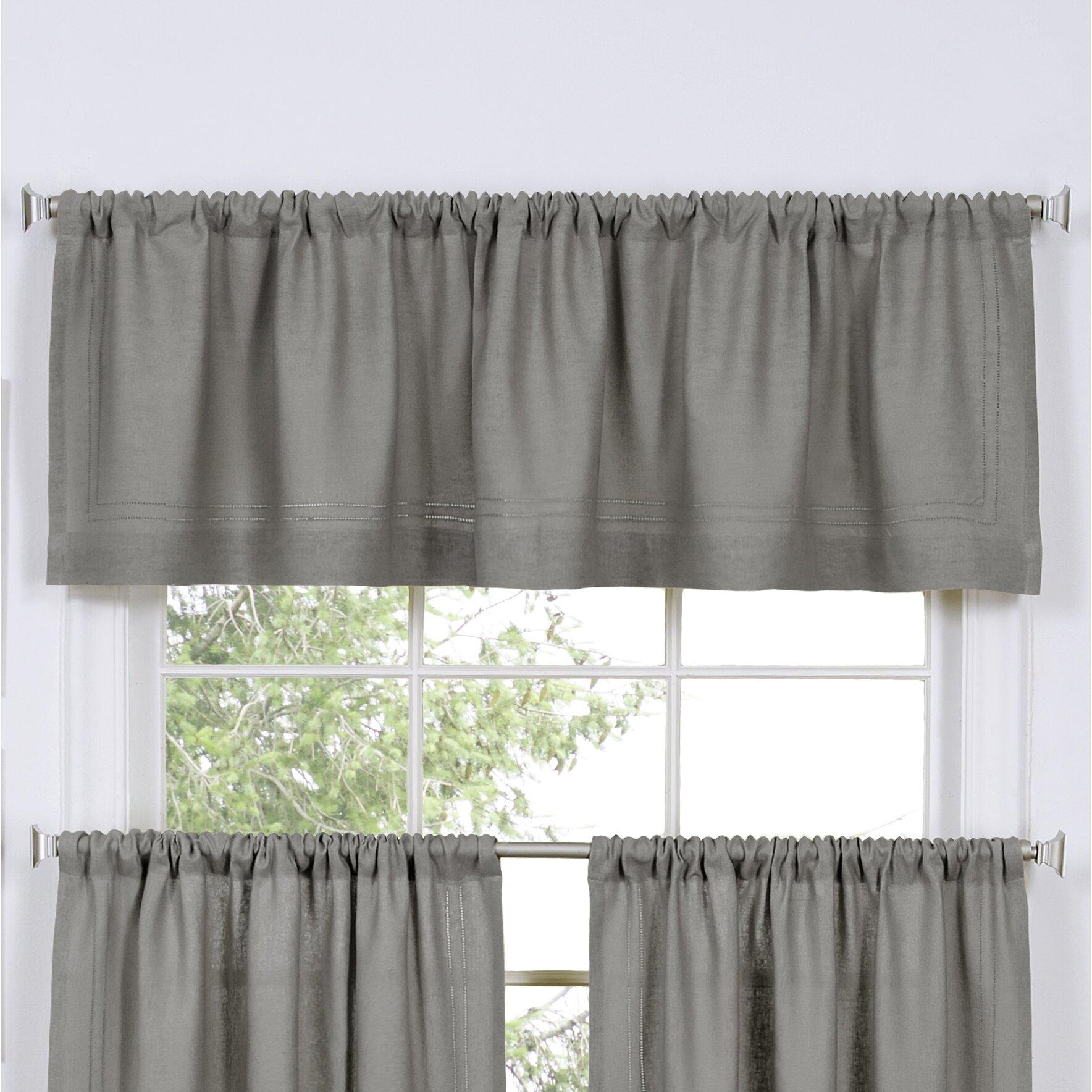 "Elrene Home Fashions Cameron 60"" Curtain Valance & Reviews"