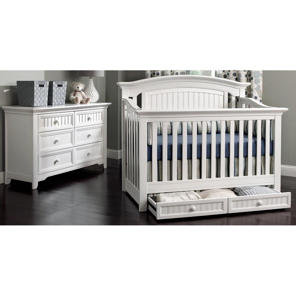 Baby cribs queens ny - Suite Bebe Winchester Lifetime 4 In 1 Convertible Crib
