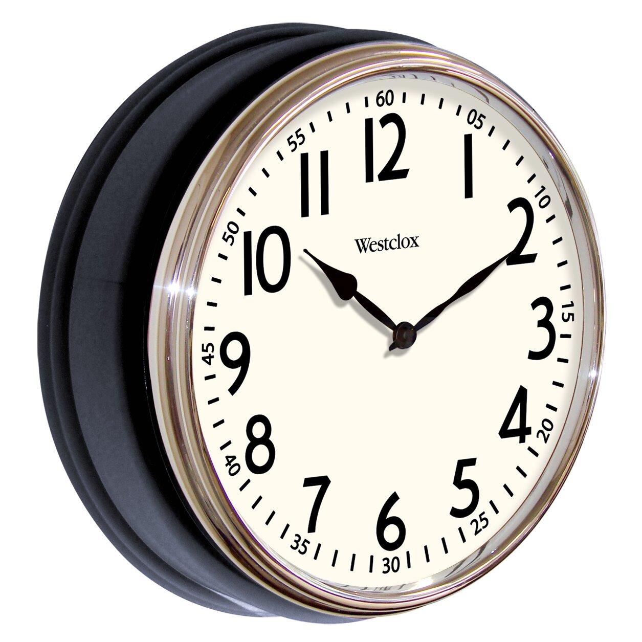 Retro Kitchen Wall Clocks Modern Contemporary Wall Clocks Youll Love Wayfair
