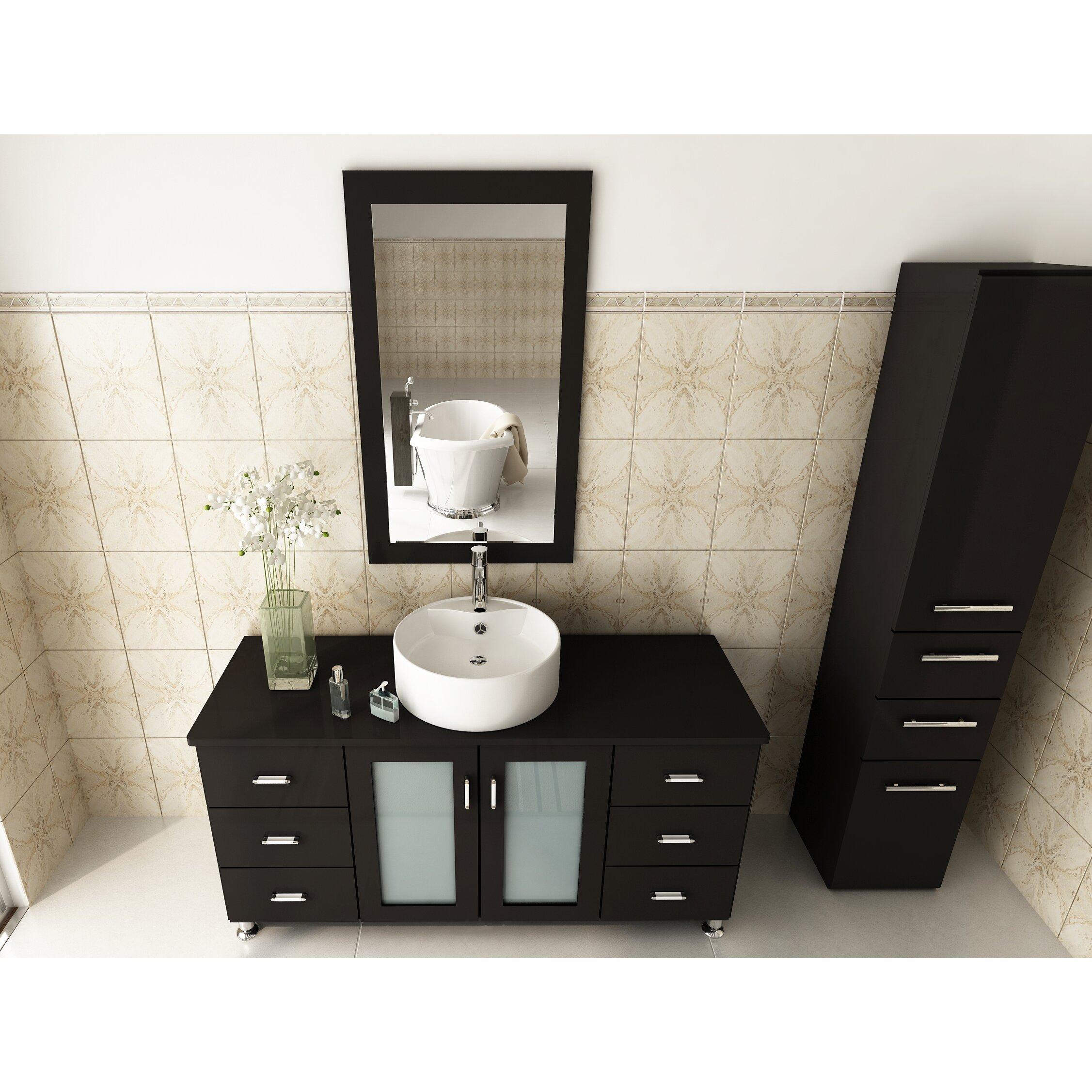 Jwh Living 47 Single Grand Lune Bathroom Vanity Set Reviews Wayfair