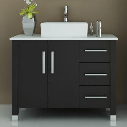 Jwh Living Crater 39 5 Single Modern Bathroom Vanity Set Reviews Wayfair