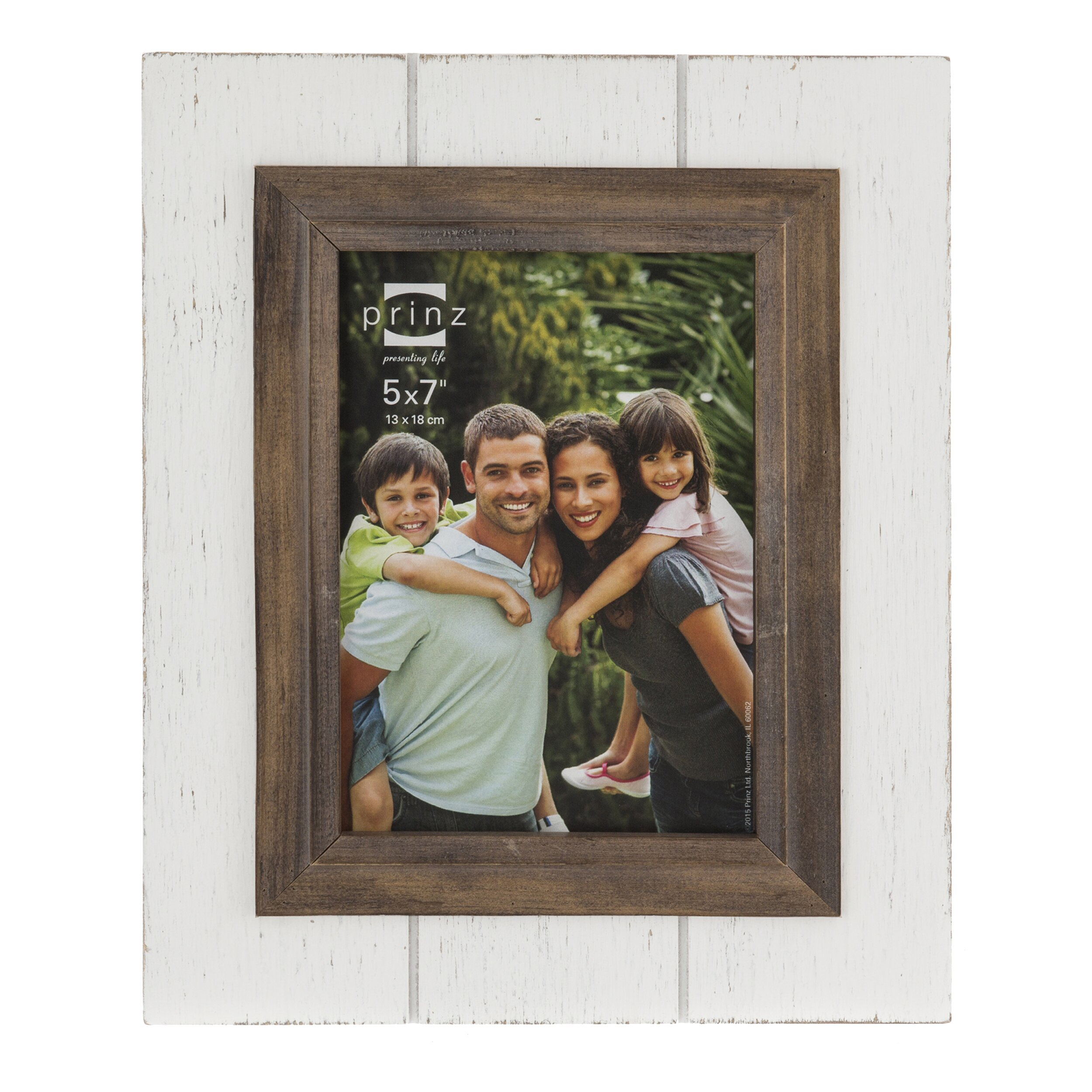 parker distressed plank picture frame