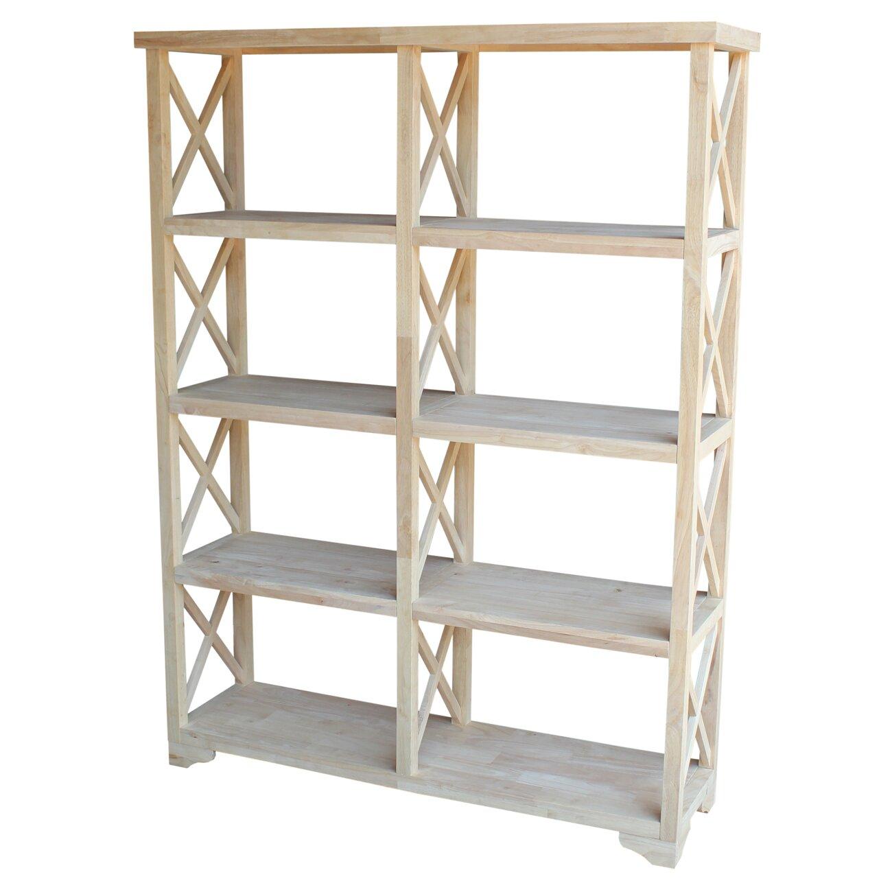 international concepts x design 72 etagere bookcase. Black Bedroom Furniture Sets. Home Design Ideas
